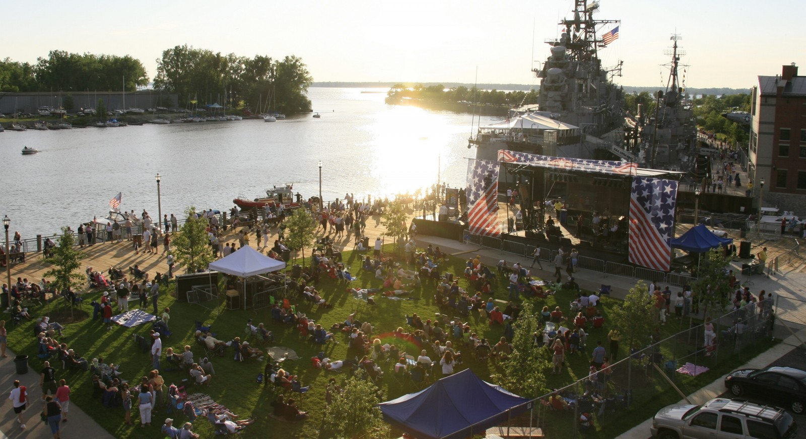 The Buffalo Philharmonic Orchestra concert at Canalside will have a local opener that won a Canalside Battle contest.
