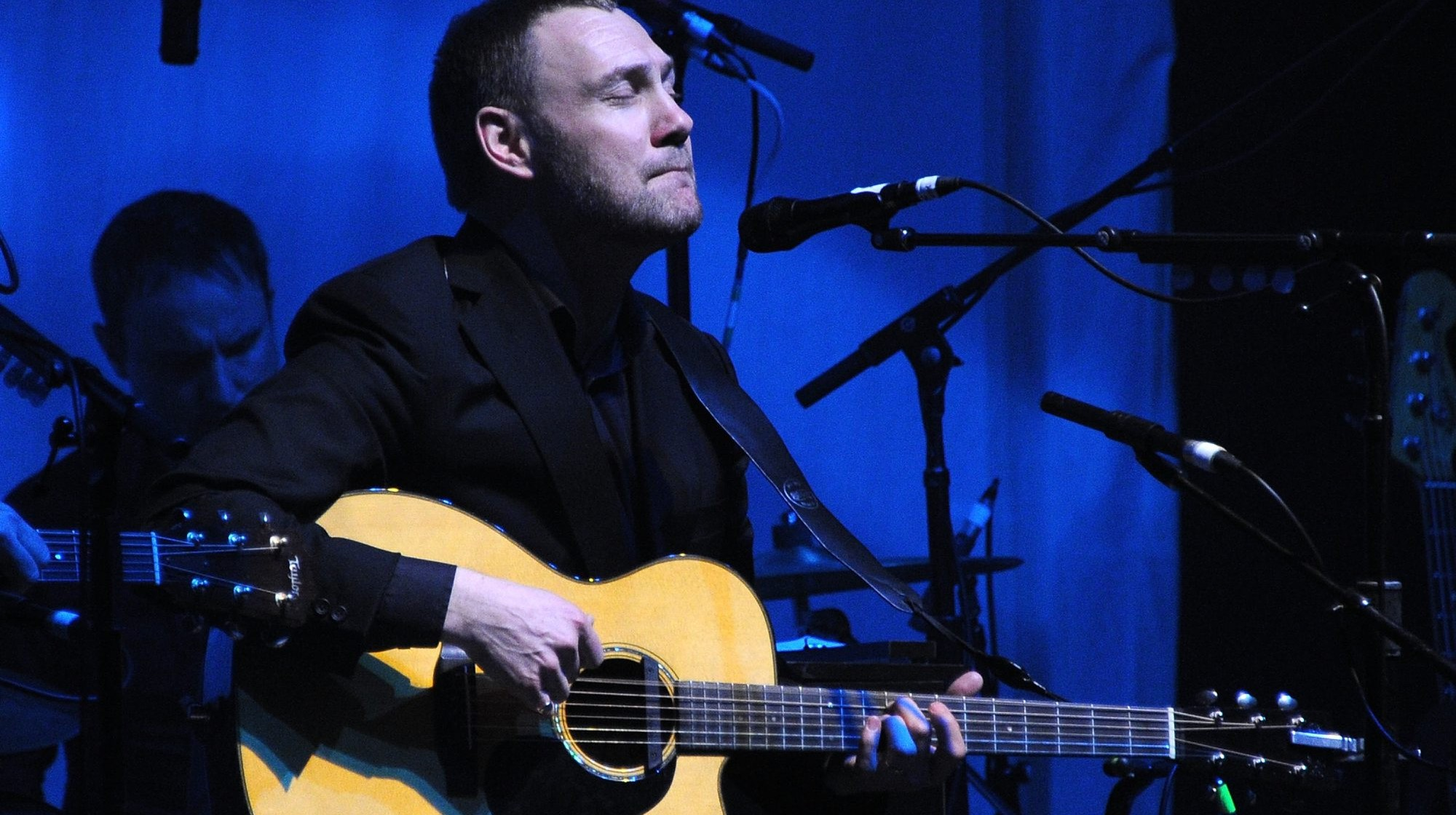 David Gray is fascinated by music and words.