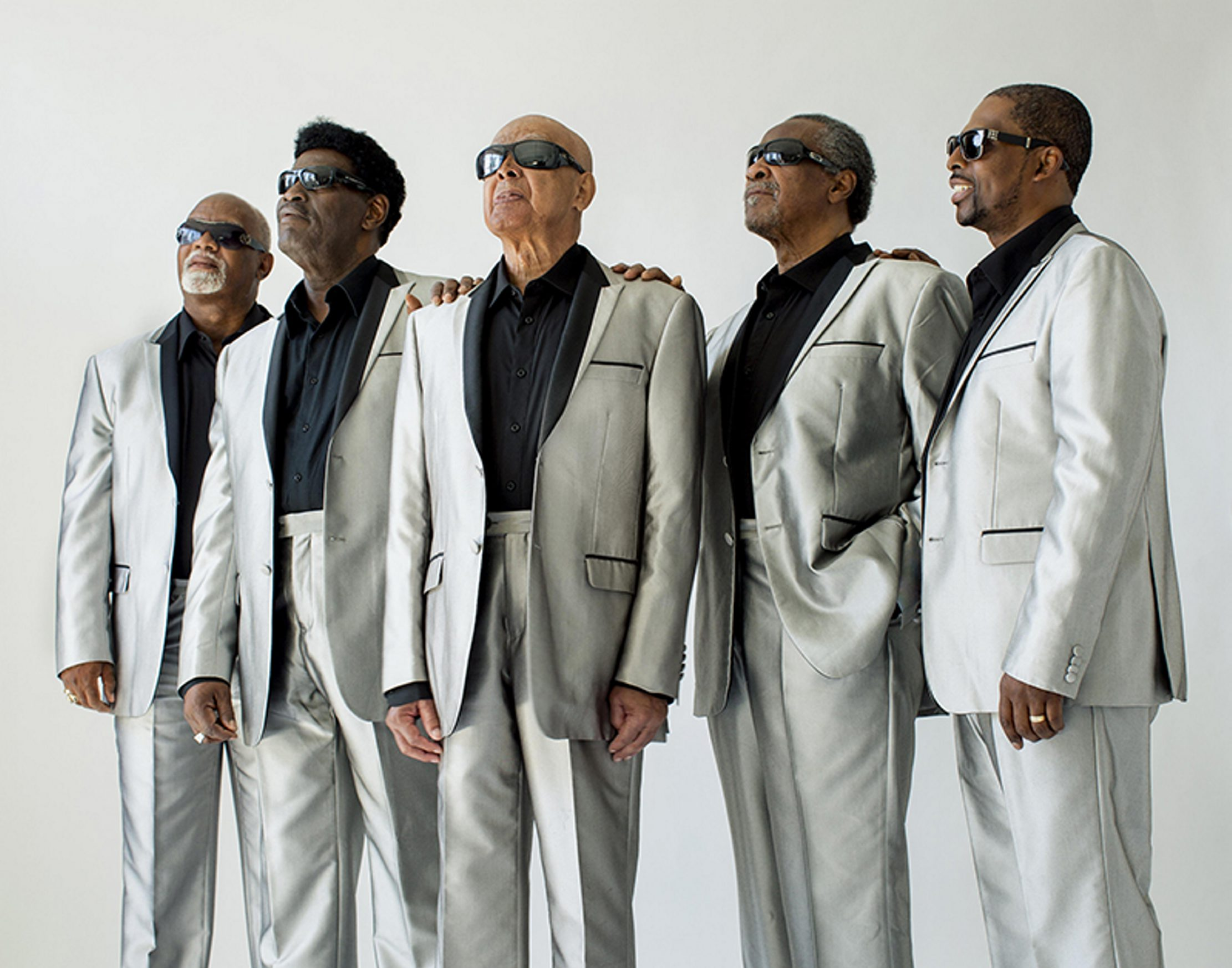 The Blind Boys of Alabama, featuring original member Jimmy Carter, perform Wednesday in the Tralf.