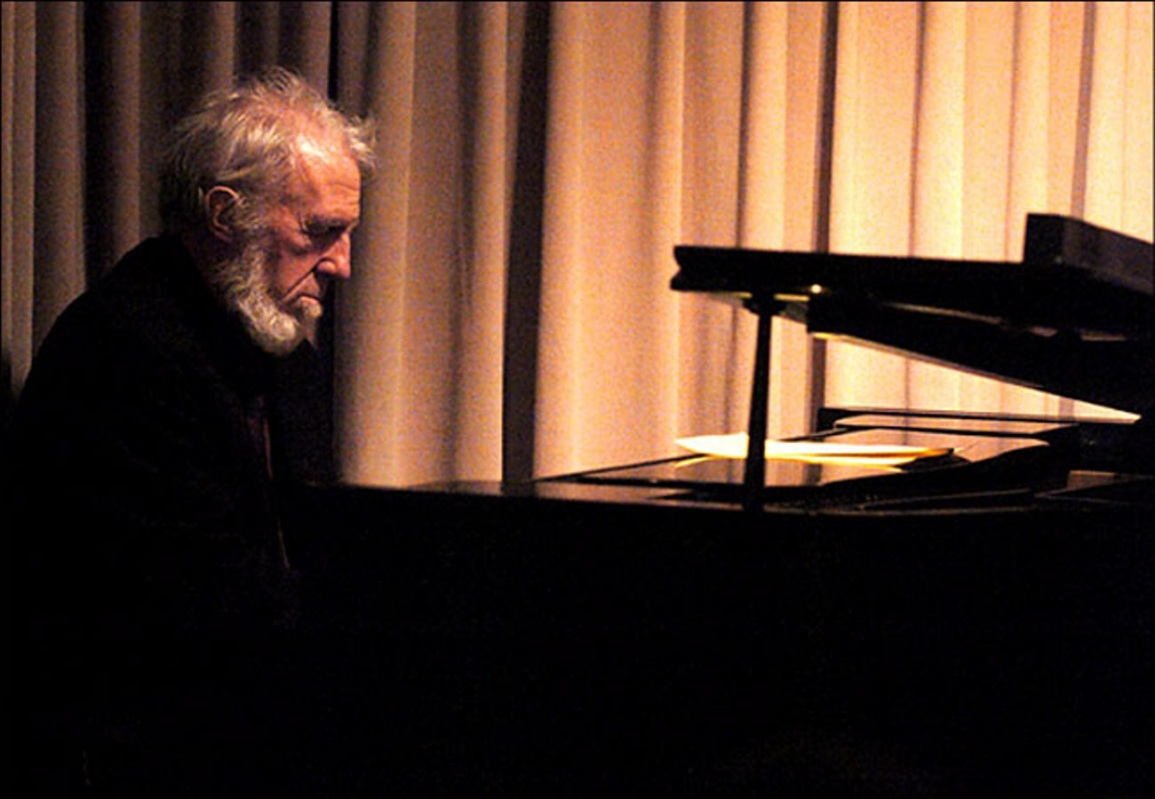 """Jazz pianist Ran Blake pays tribute to the late and extraordinary composer George Russell on """"Ghost Tones."""""""
