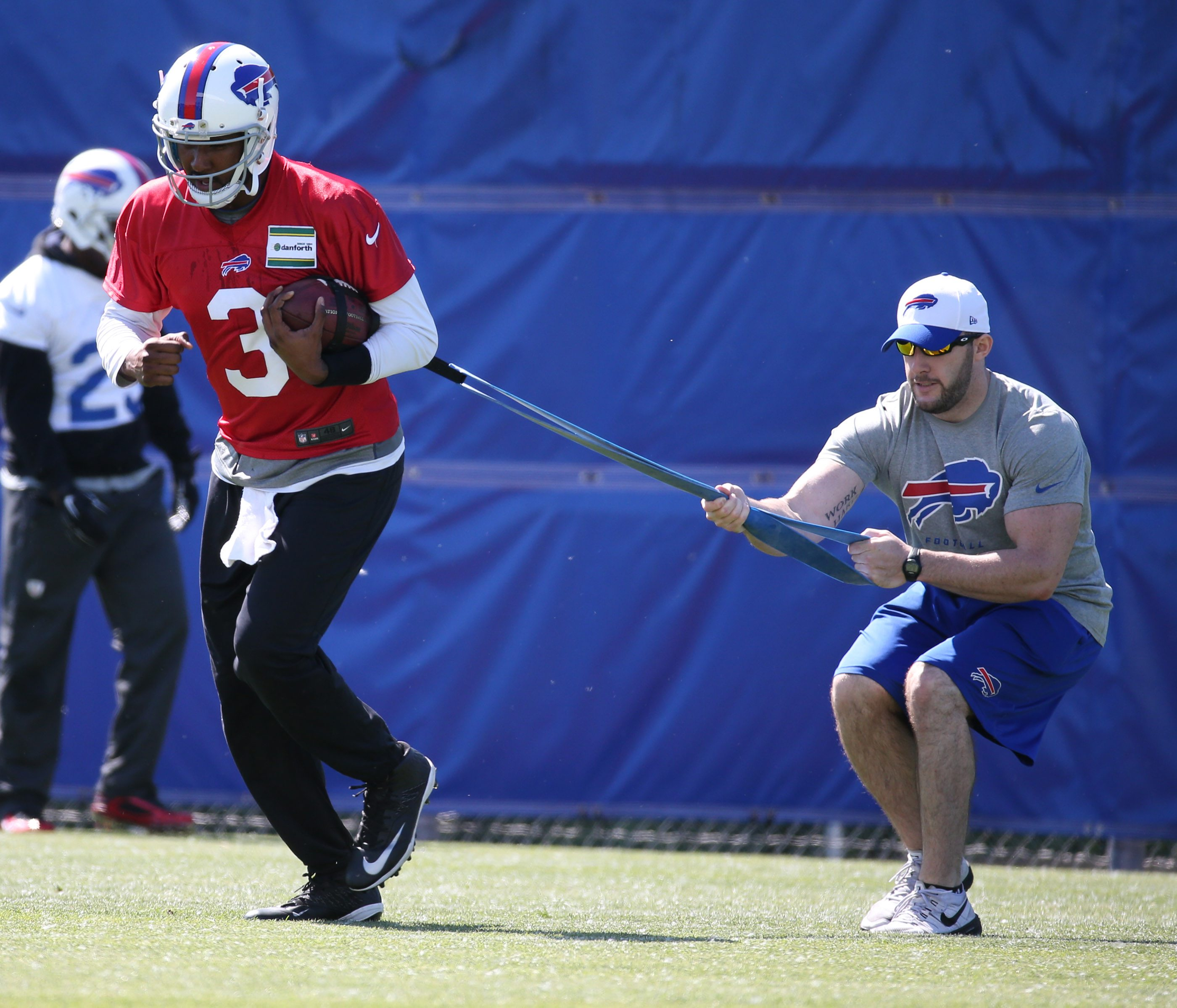 EJ Manuel and the other quarterbacks have not stepped up to be a true difference maker so far in OTAs.