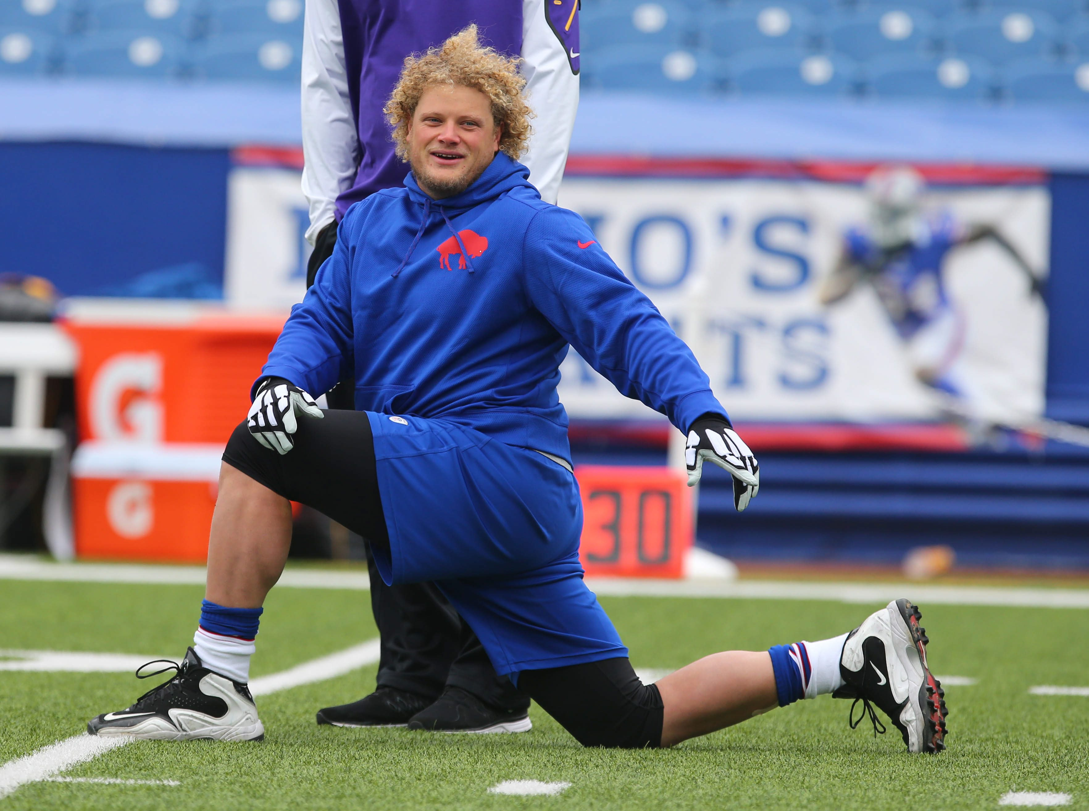 Eric Wood brings stability to center position.