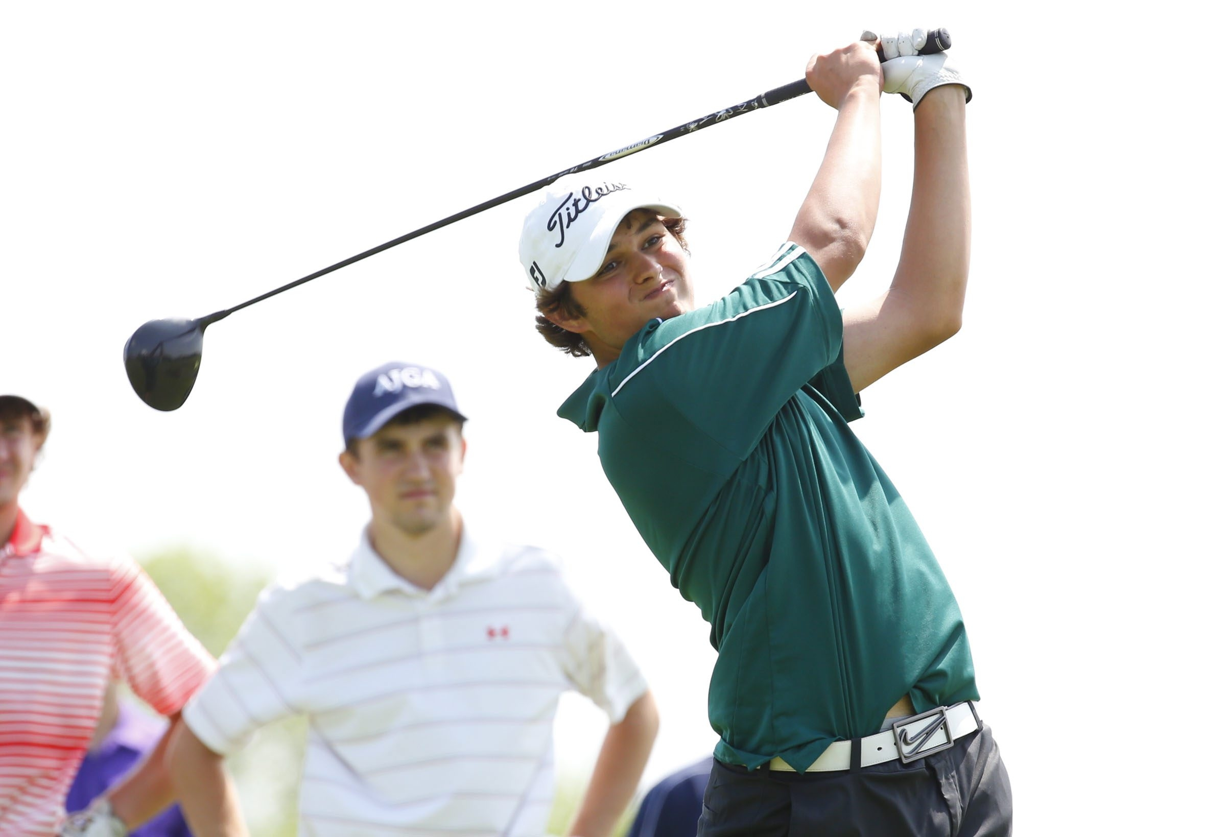 Williamsville North's Ben Reichert, shown here teeing off during his victory at the Section VI tournament last month, was one of eight golfers to qualify for the prestigious Porter Cup Tournament on Monday. (Harry Scull Jr./Buffalo News file photo)