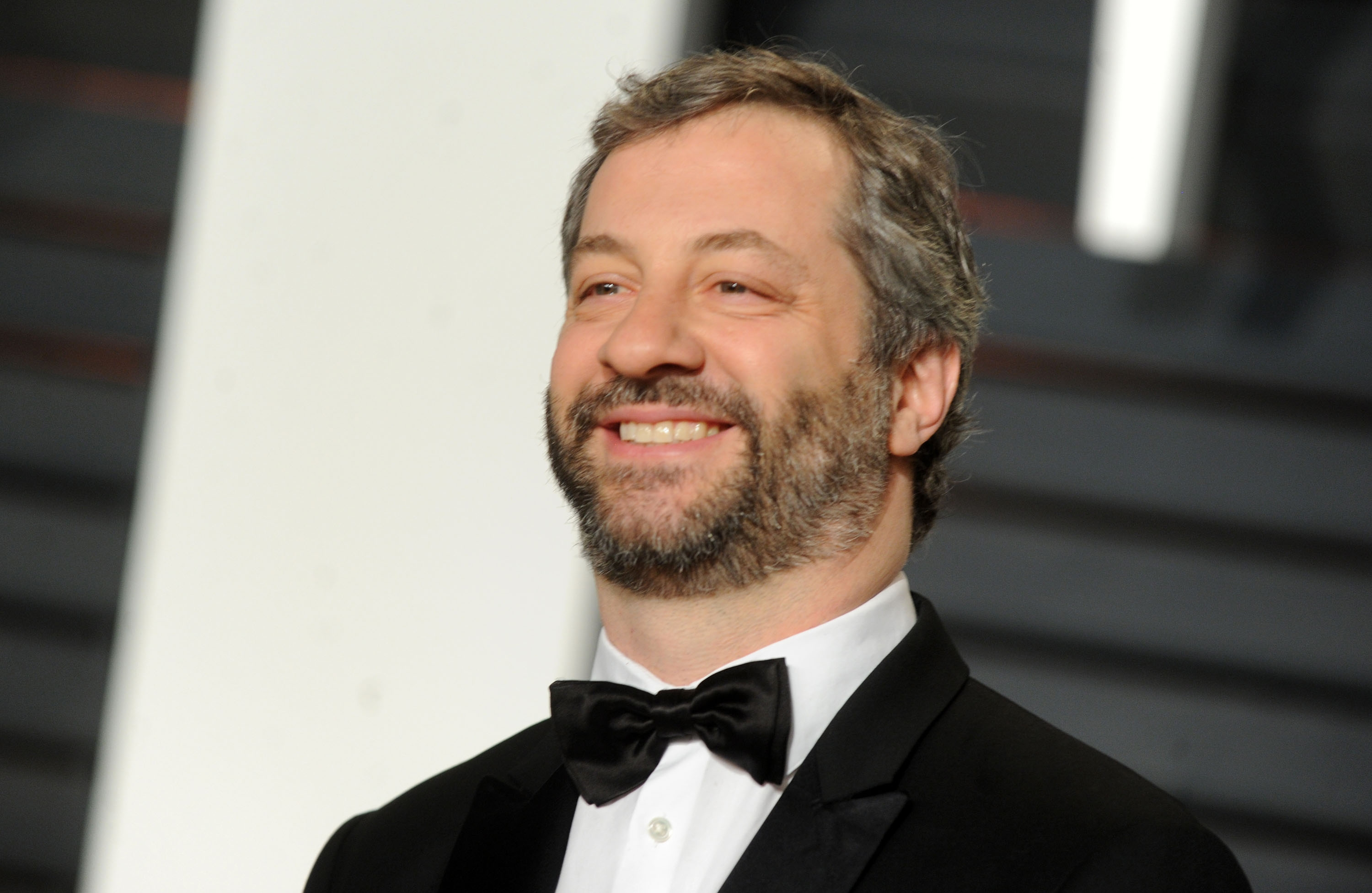Judd Apatow says 'So much of the advice that was given to me when I was 15 and 16 years old, I took. Everything from the logistics of how to get on at a comedy club to discipline and patience.' (Dennis Van Tine/Abaca Press/TNS)