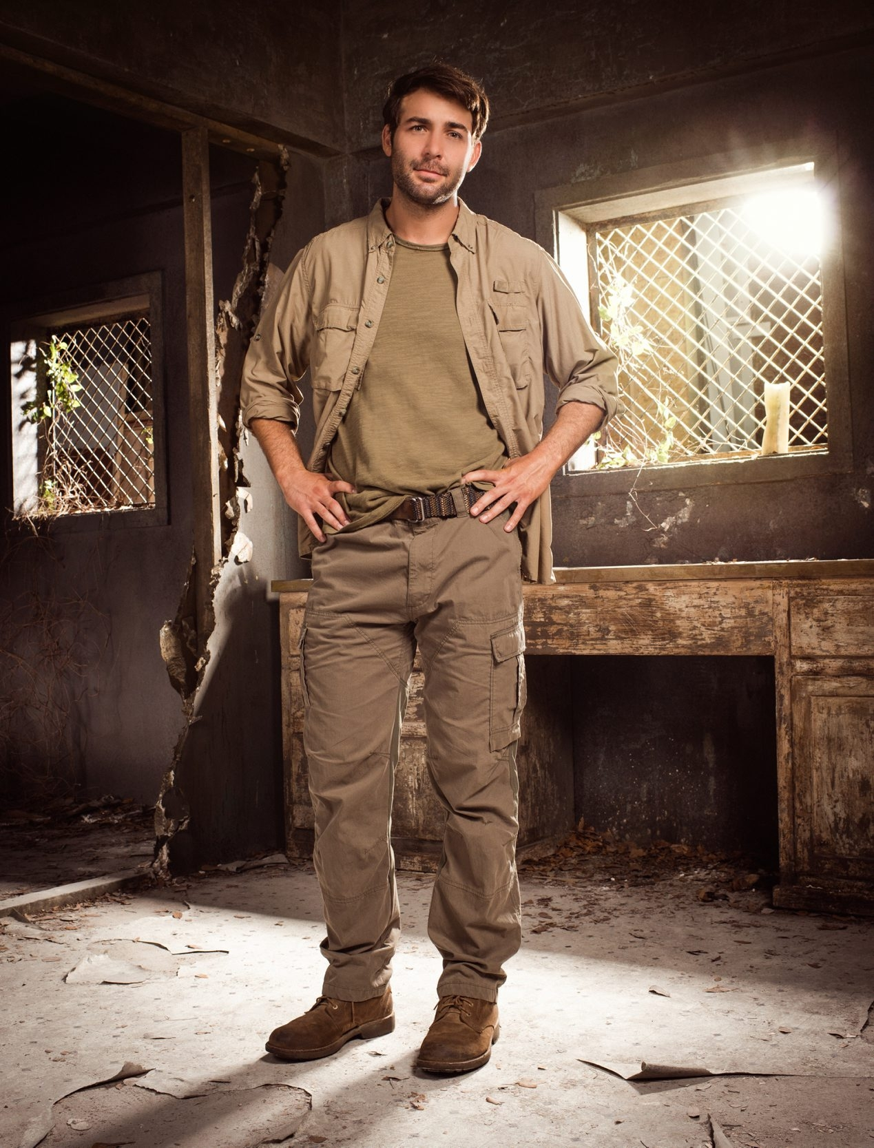 "James Wolk stars as a zoologist in the new CBS series ""Zoo."""