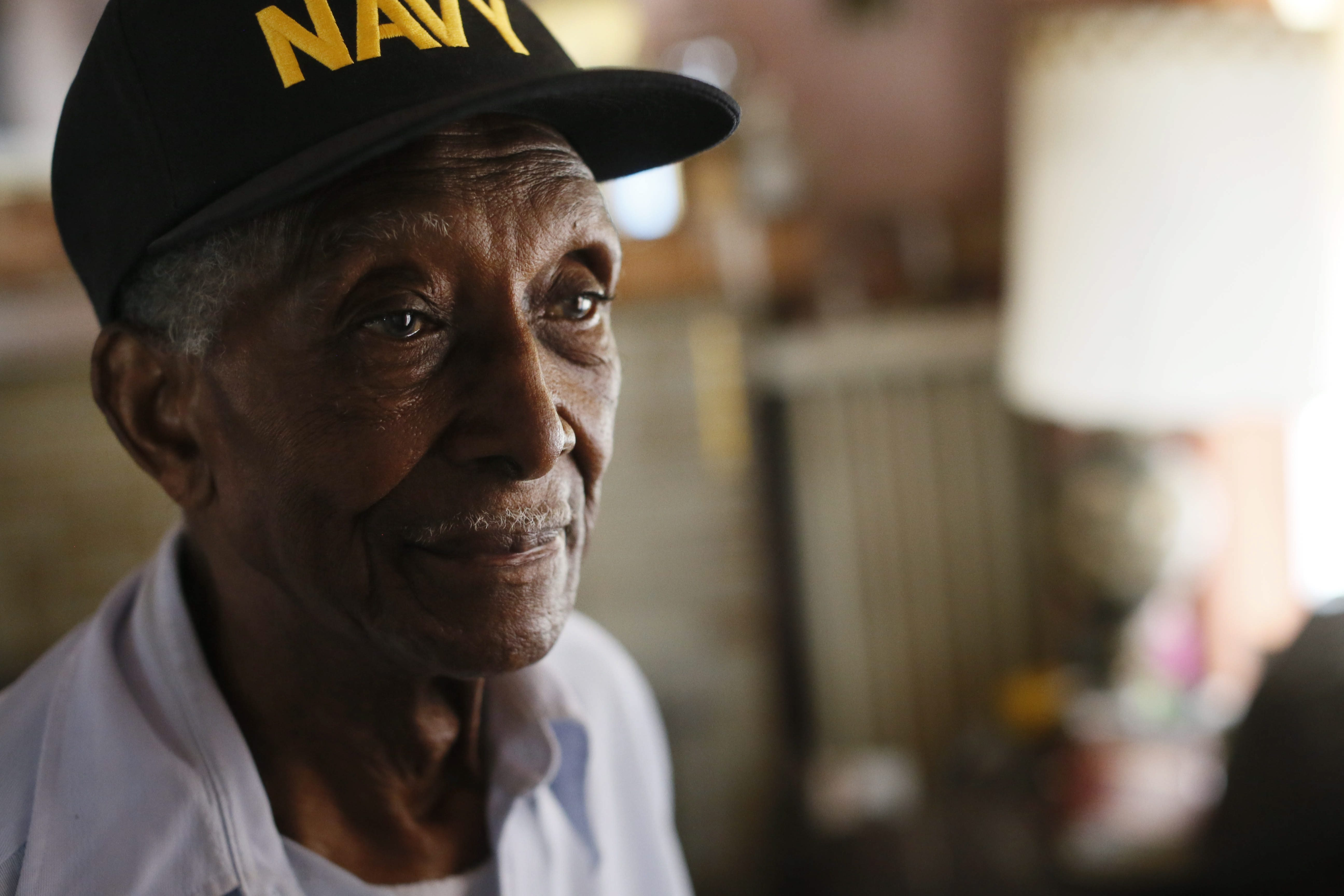 Johnnie H. Hodges Sr., a 90-year-old Navy veteran of World War II, received notice from M&T Bank Thursday that he must leave the house he has lived in for more than 60 years.