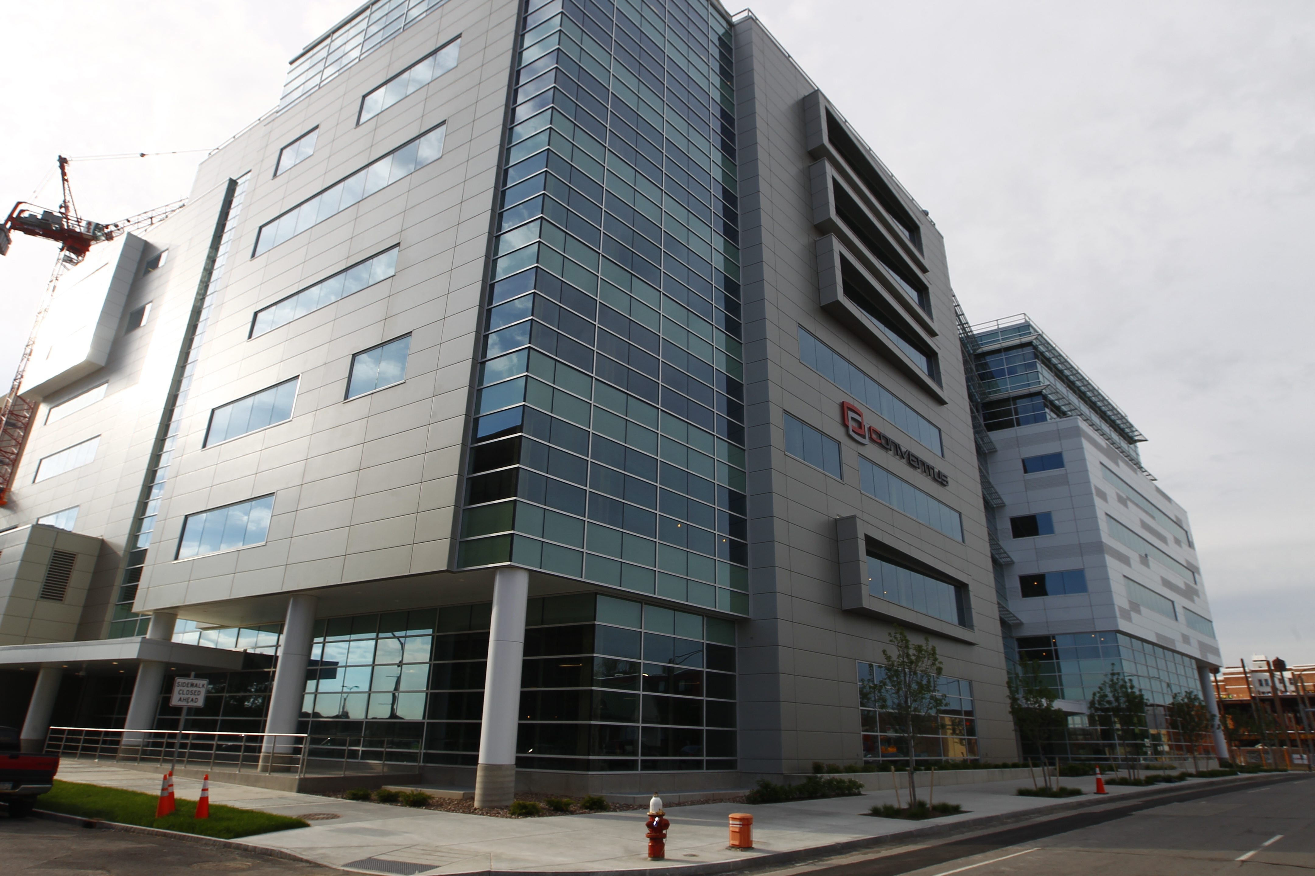 The Conventus building is expected to house Kinex Pharmaceuticals, a Buffalo-based company.