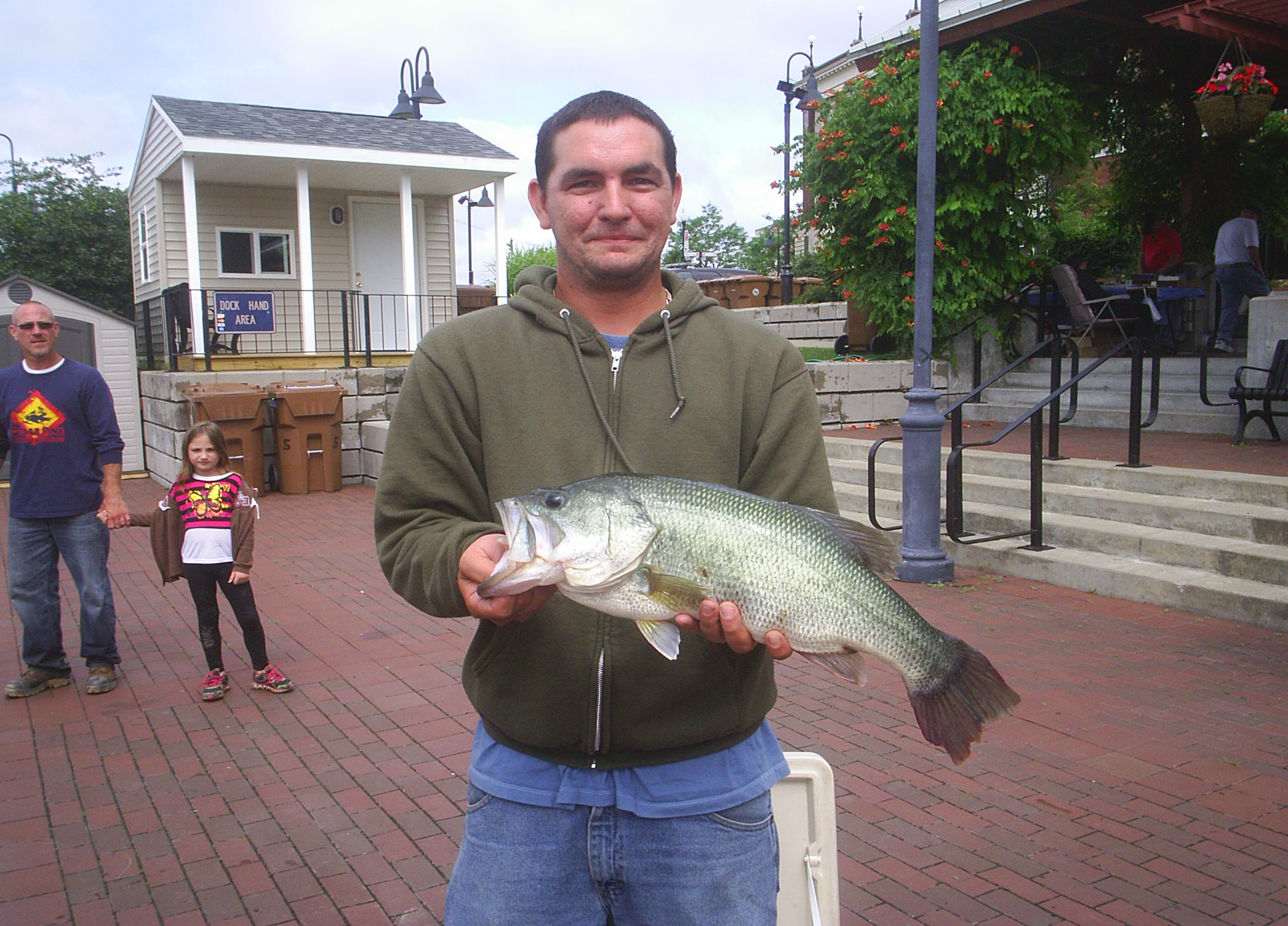 A largemouth bass that weighed in at 6.44 pounds was a prize-winner for Shawn Krull, of North Tonawanda, in 2013. Gateway Harbor will host a tournament Saturday and Sunday.