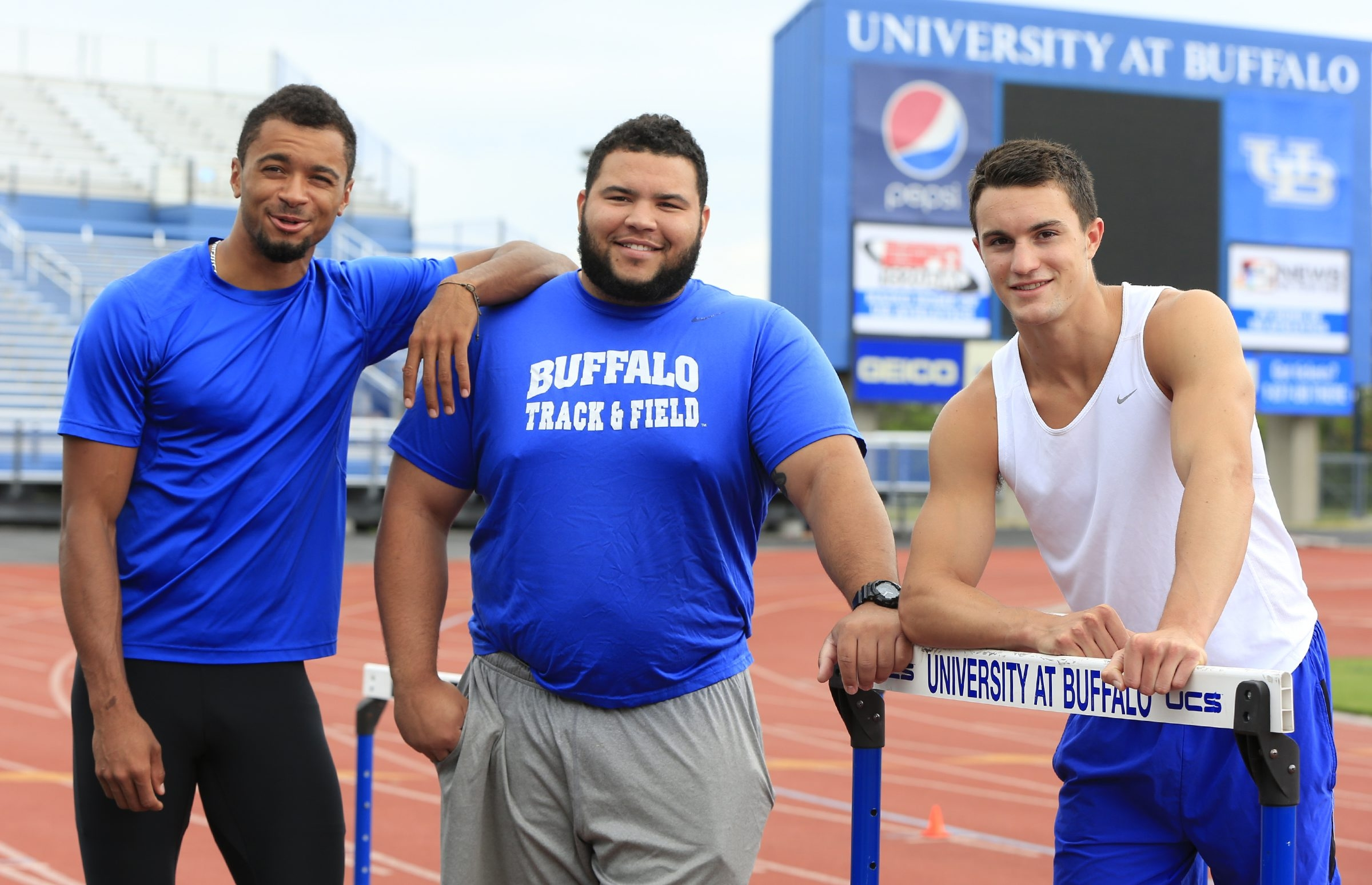 Five-time All-American senior shot putter Jonathan Jones has a goal to qualify for the Olympic Games in 2016 or 2020.