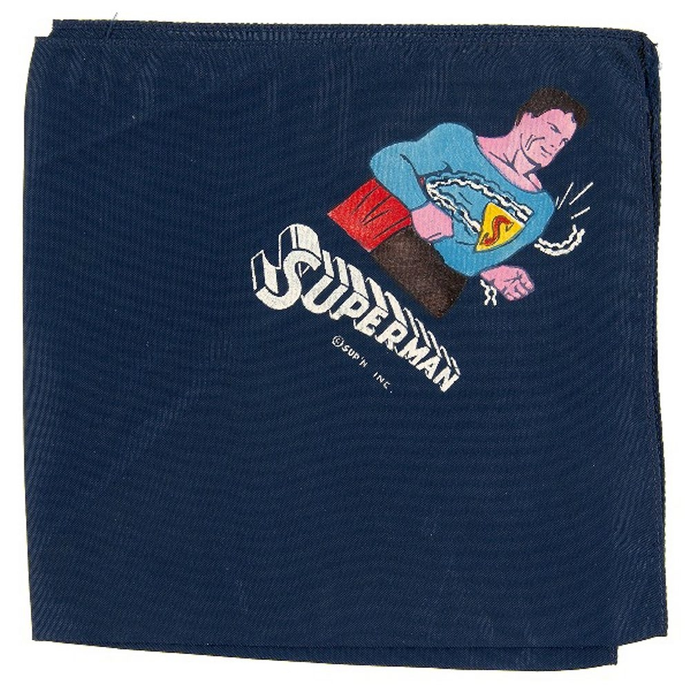 This rare Superman handkerchief sold for $5,705 at a Hake's Americana & Collectibles online auction.