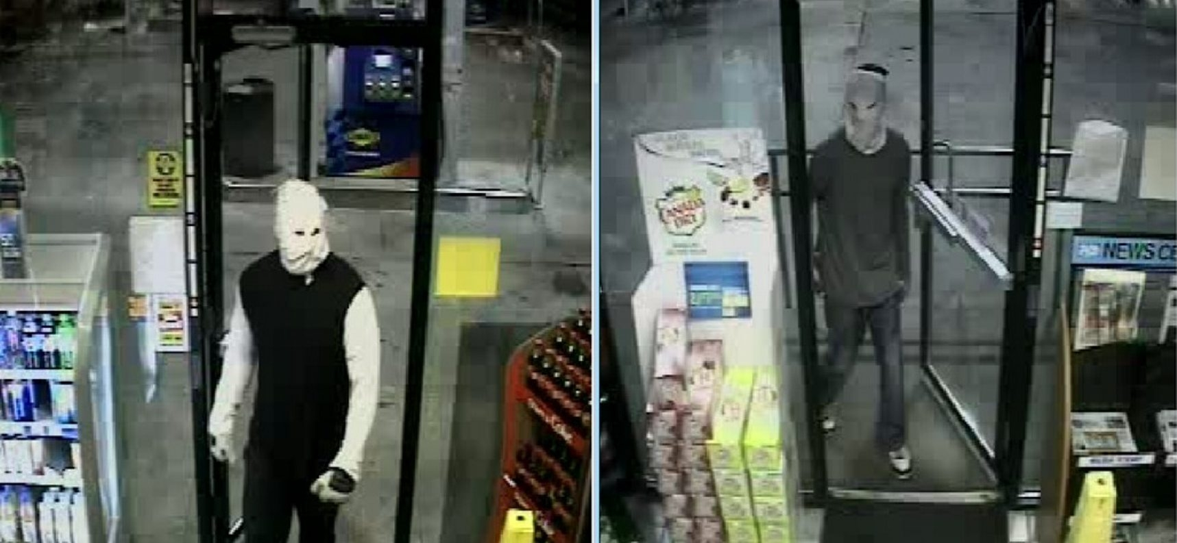 Tonawanda police provided these images of the suspects in the early morning holdup at the Sunoco station.