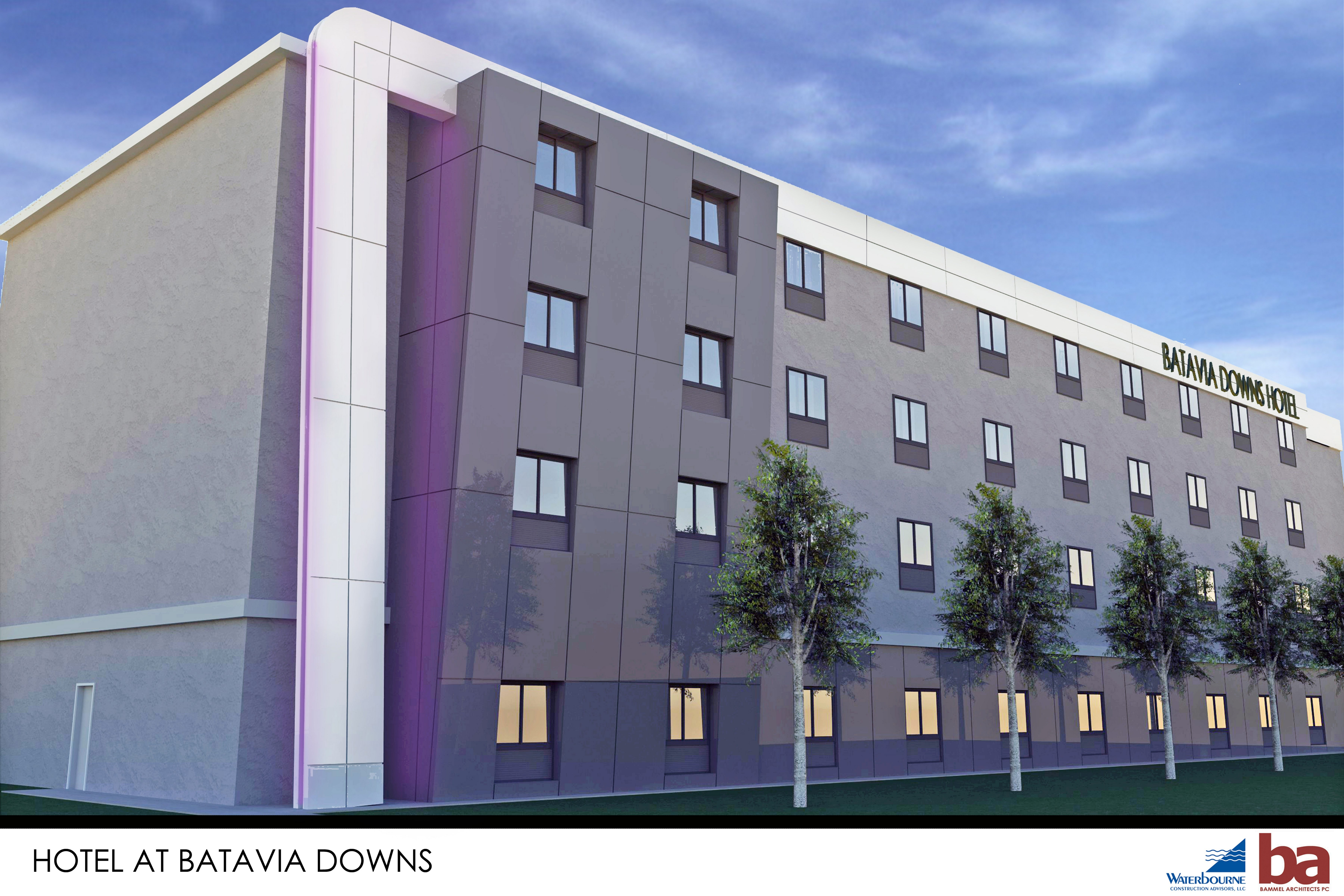 A public hearing is planned for 7 p.m. June 22 on ADK Hospitality's request for tax breaks for a proposed 82-room hotel at Batavia Downs.