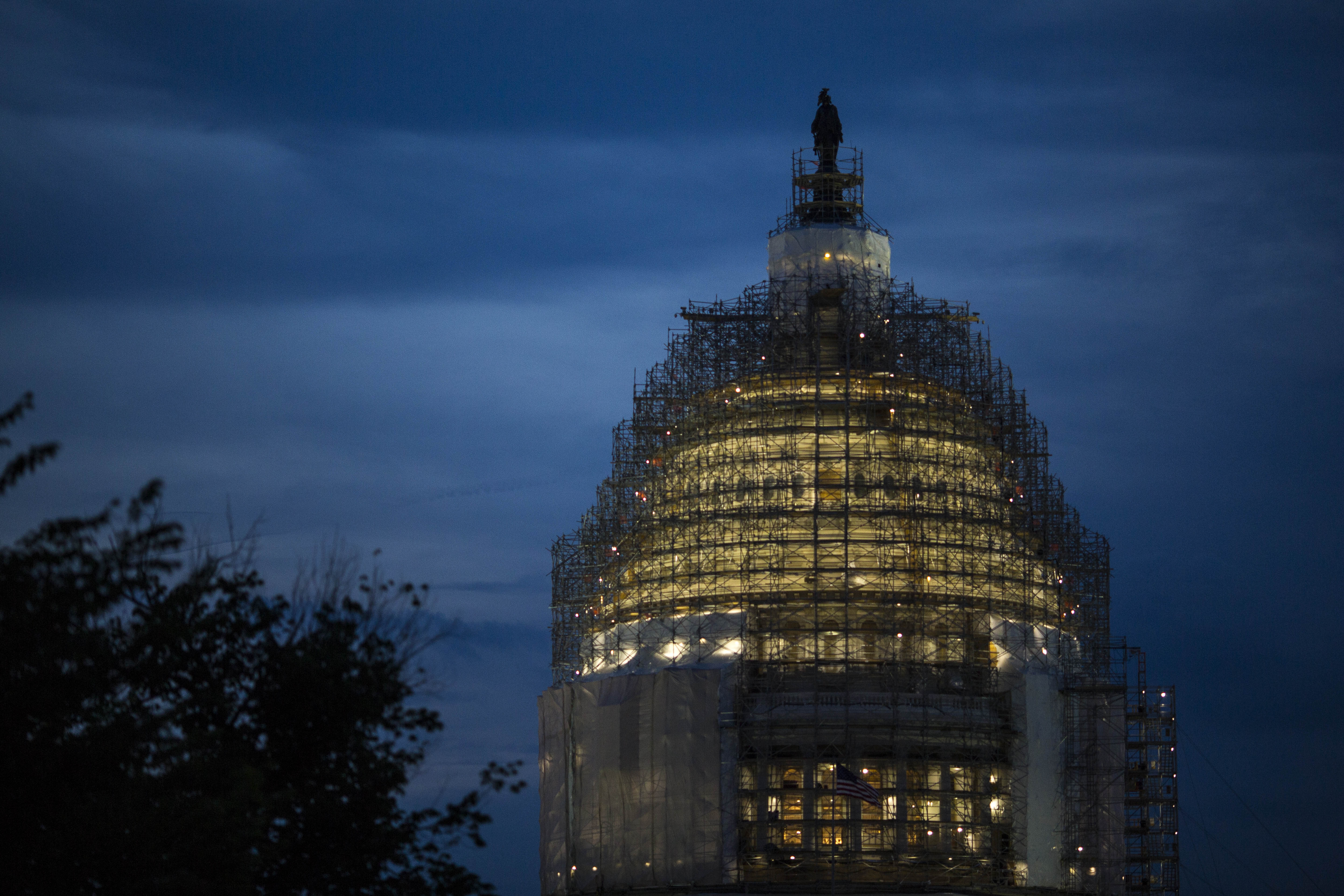 Congress managed to reach agreement on the USA Freedom Act, which balances national security with privacy rights. (Getty Images)