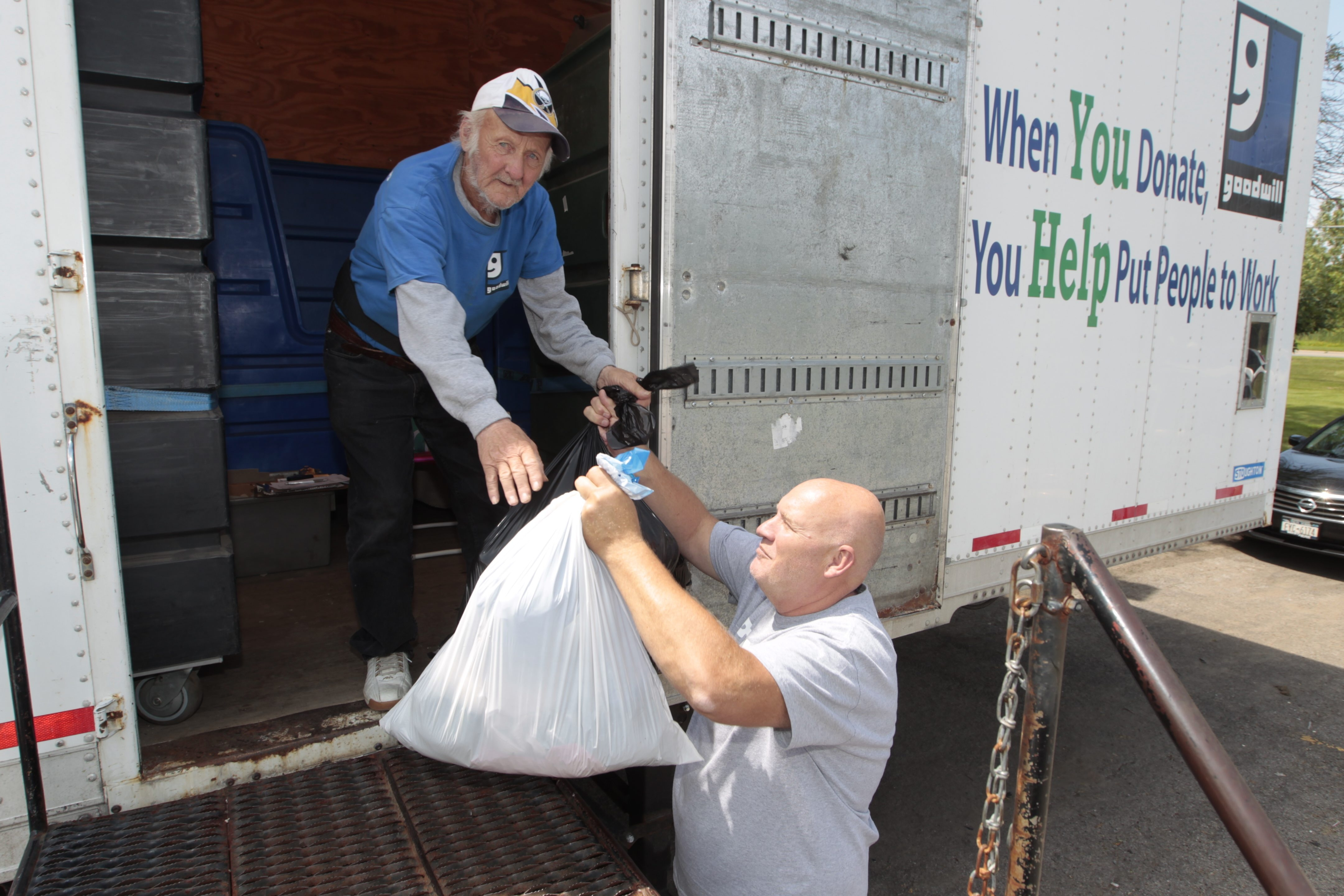 Buffalo native Ed Cummings has worked at Goodwill Industries for 43 years, earning a reputation as the go-to donations man. Though he has worked other jobs throughout his life, Cummings said that working the donation trailer at Maple and Tranist roads in Amherst is his favorite.