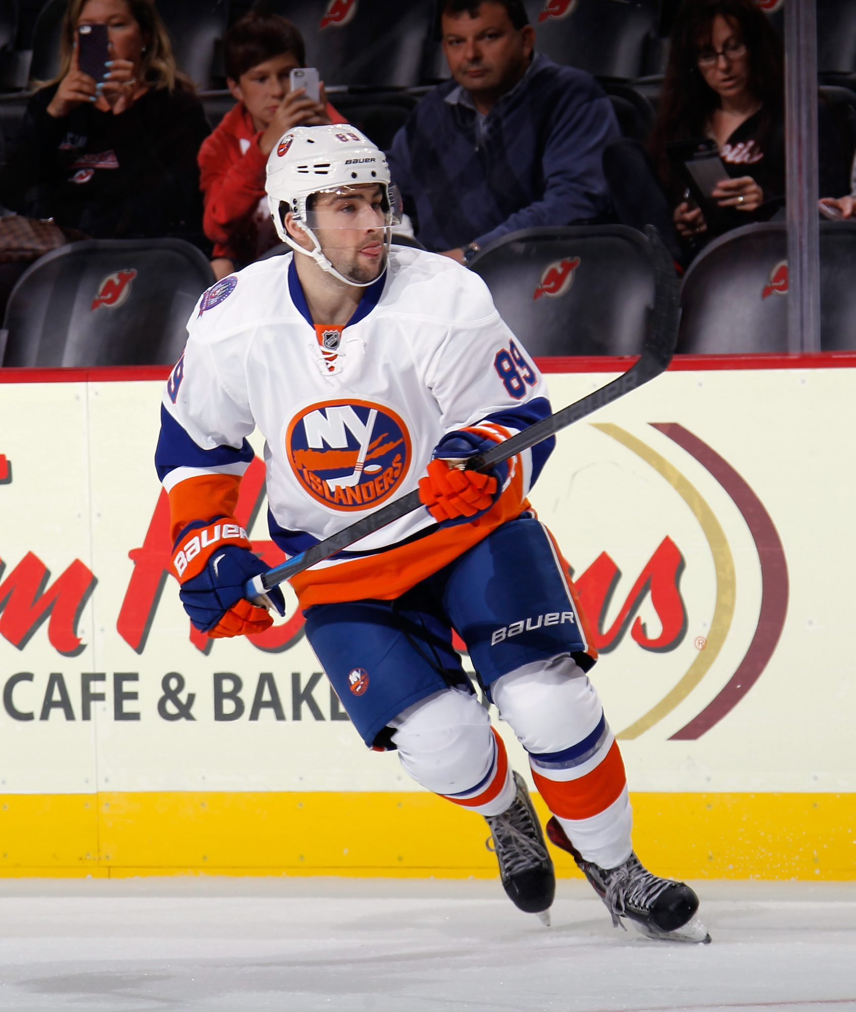 Cory Conacher has been with several NHL organizations, including the Islanders.