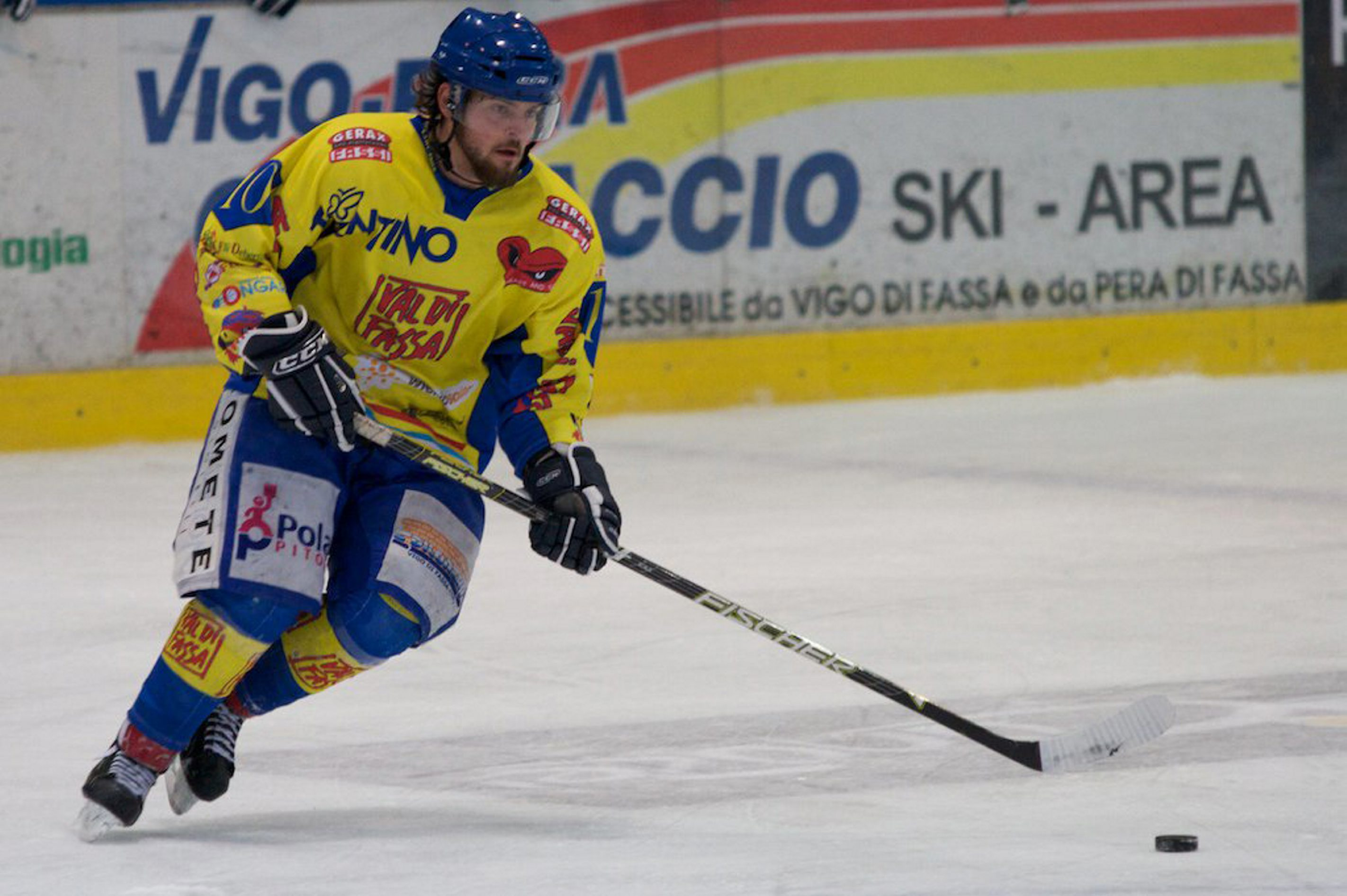 Former Niagara player Dan Sullivan has found a fit in pro hockey skating overseas and played for a league champion in Italy this season.