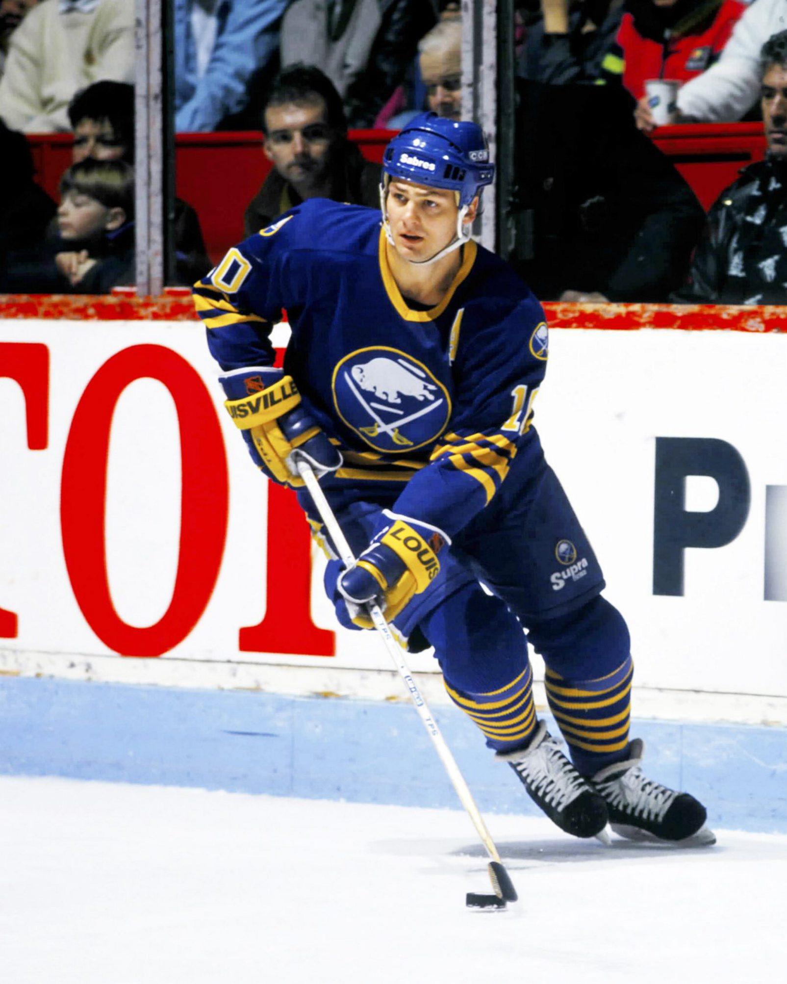 Dale Hawerchuk is one of two Sabres who have had success while wearing the No. 10. Craig Ramsay is the other.