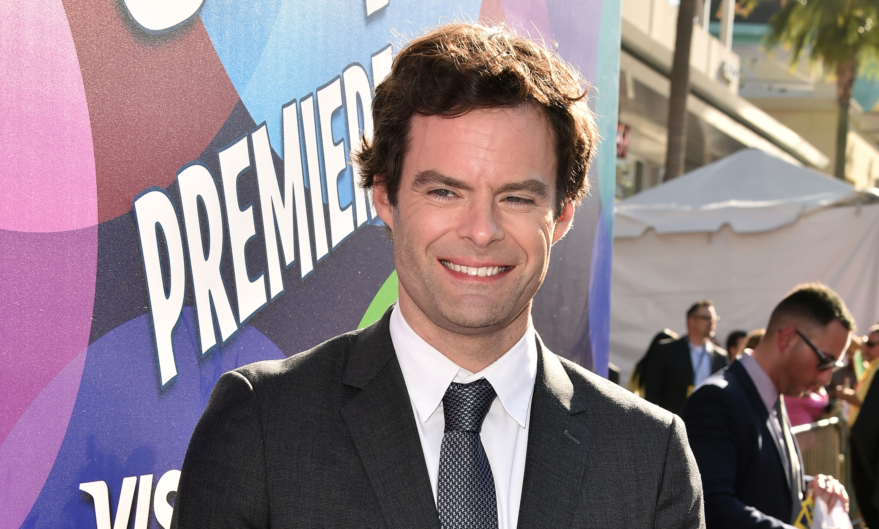 Before he was at Iroquois High School on June 11, actor Bill Hader went to the premiere of Disney-Pixar's 'Inside Out' on June 8 in Hollywood. (Getty Images)