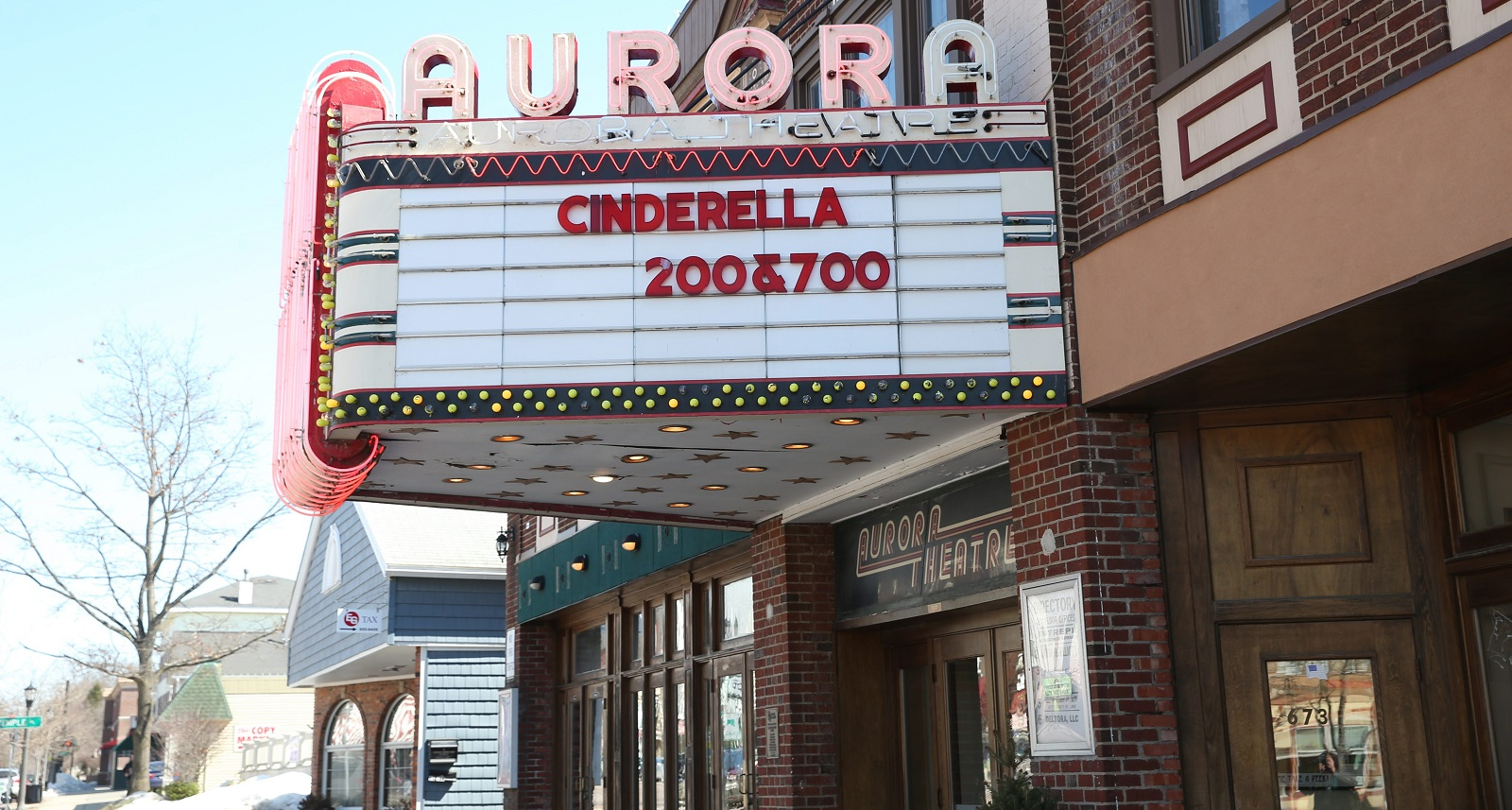 The Aurora Theatre has announced its lineup of free summer movies. (Sharon Cantillon/Buffalo News file photo)