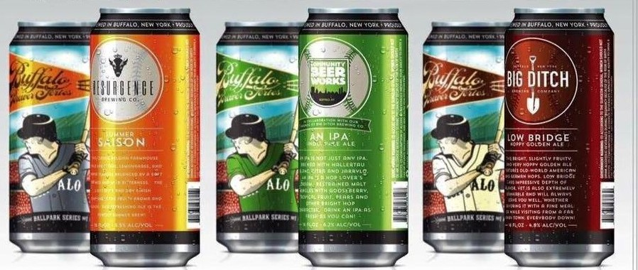 Three pack of local 16-ounce cans includes a beer from Resurgence, Big Ditch and Community Beer Works.