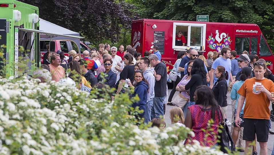 The Food Truck Rodeo at the Buffalo History Museum is back for a third season. (Don Nieman/Special to The News)