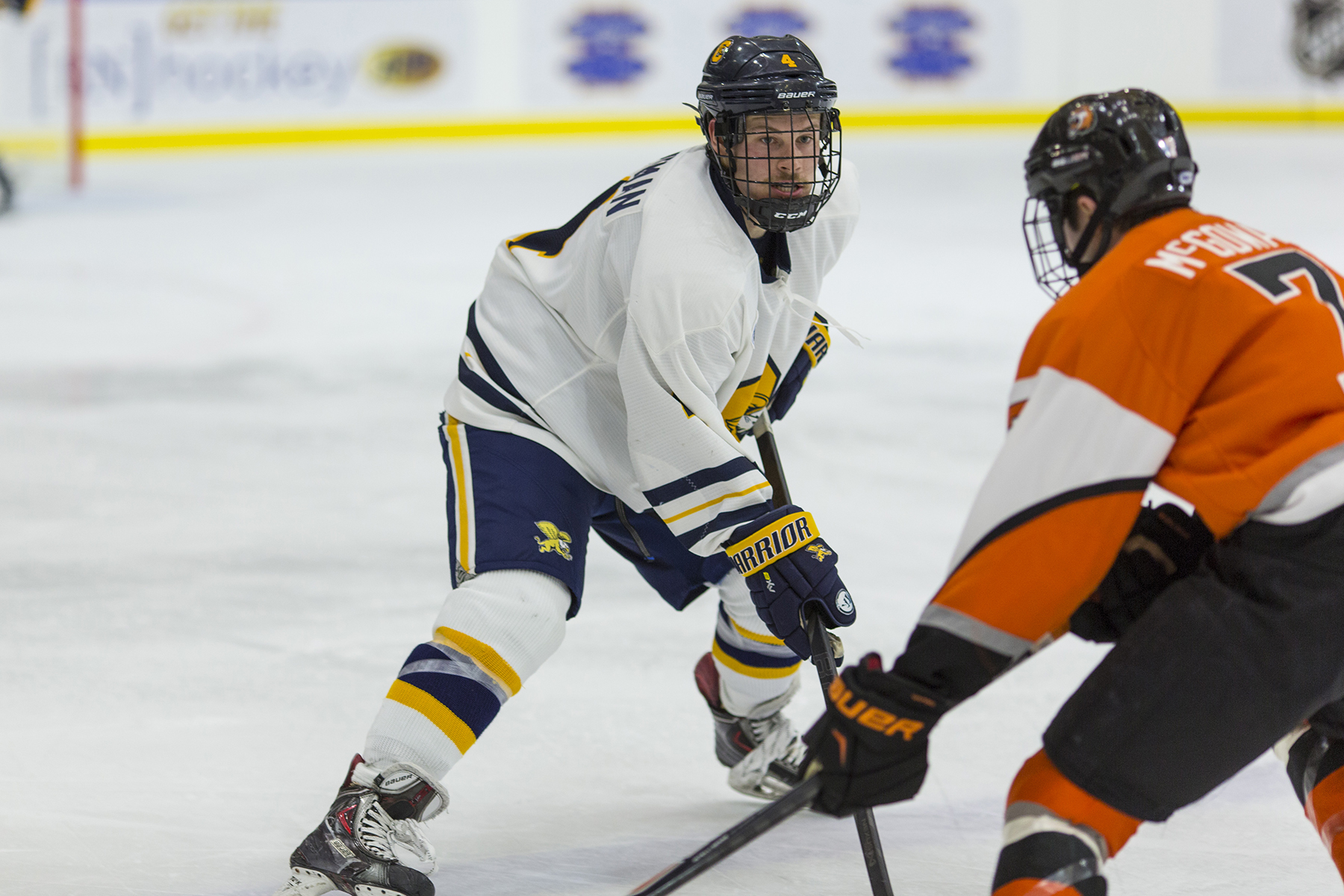 Geoff Fortman scored the OT game-winner for Canisius against Alaska.