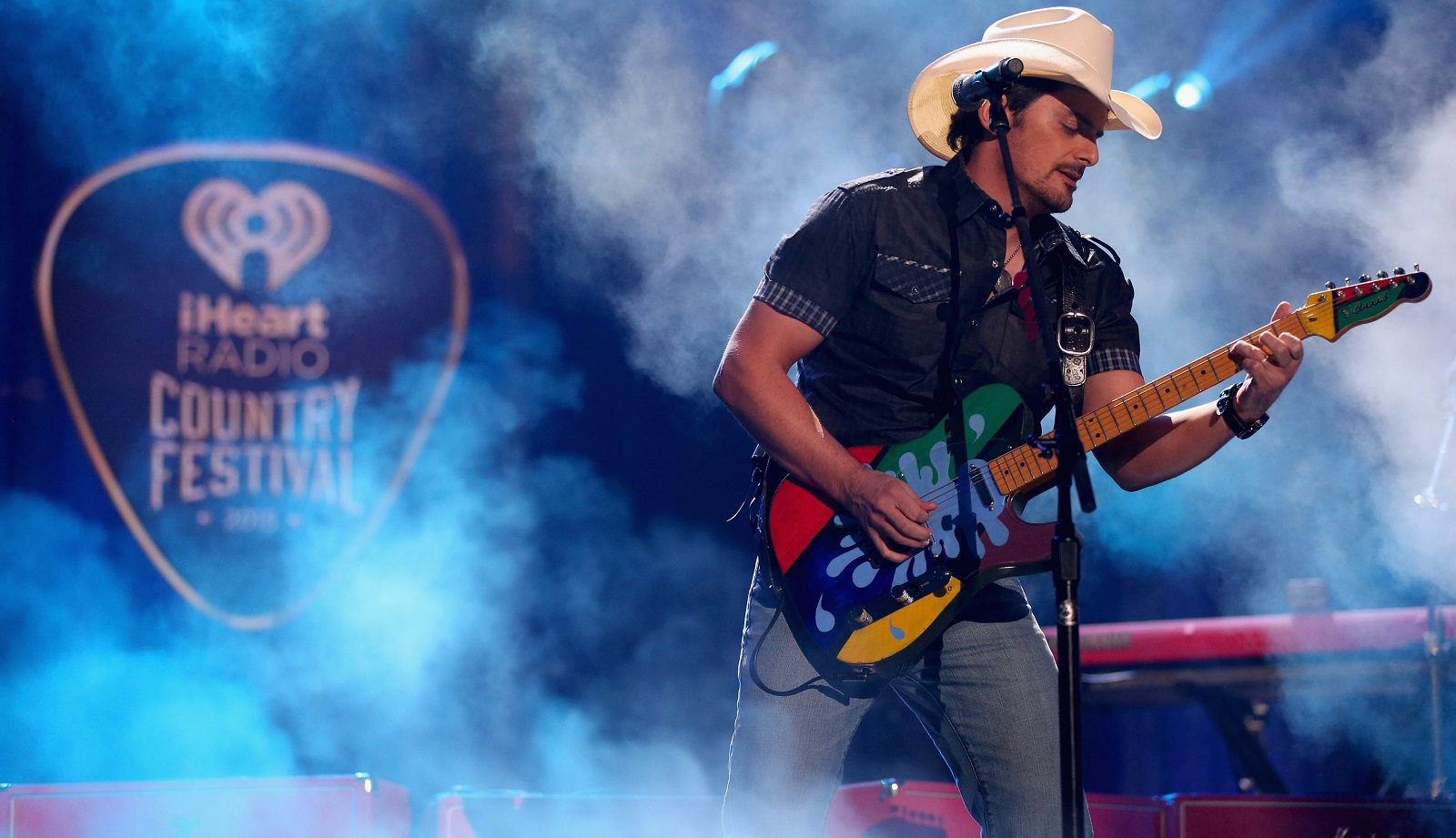 Brad Paisley concert on Sunday at Darien Lake could be really wet, but also really fun. (Getty Images)