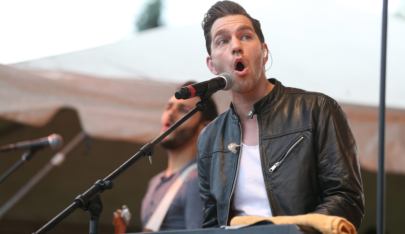 Andy Grammer headlined Starry Night in the Garden at the Buffalo and Erie County Botanical Gardens.  (Sharon Cantillon/Buffalo News)