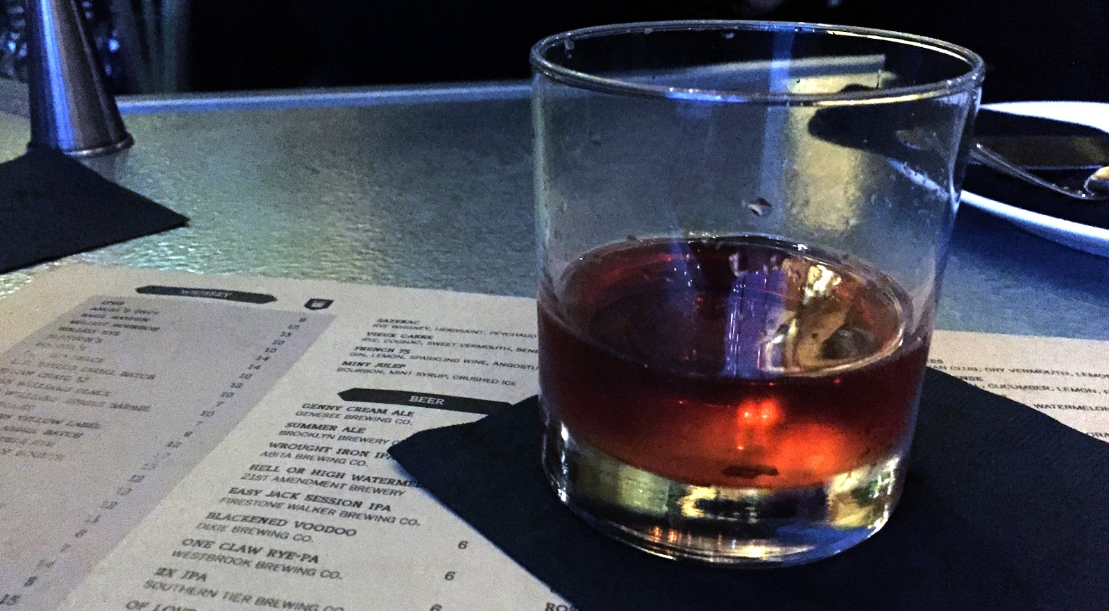 The Vieux Carre is a nickname for New Orleans' French Quarter. Lizz Schumer explores Toutant's cocktail. (Lizz Schumer/Special to The News)