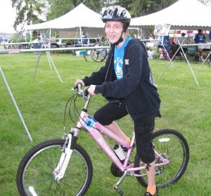 Brooke Marafino was born three months prematurely, at 1½ pounds. Her parents were told she would never ride a bike.