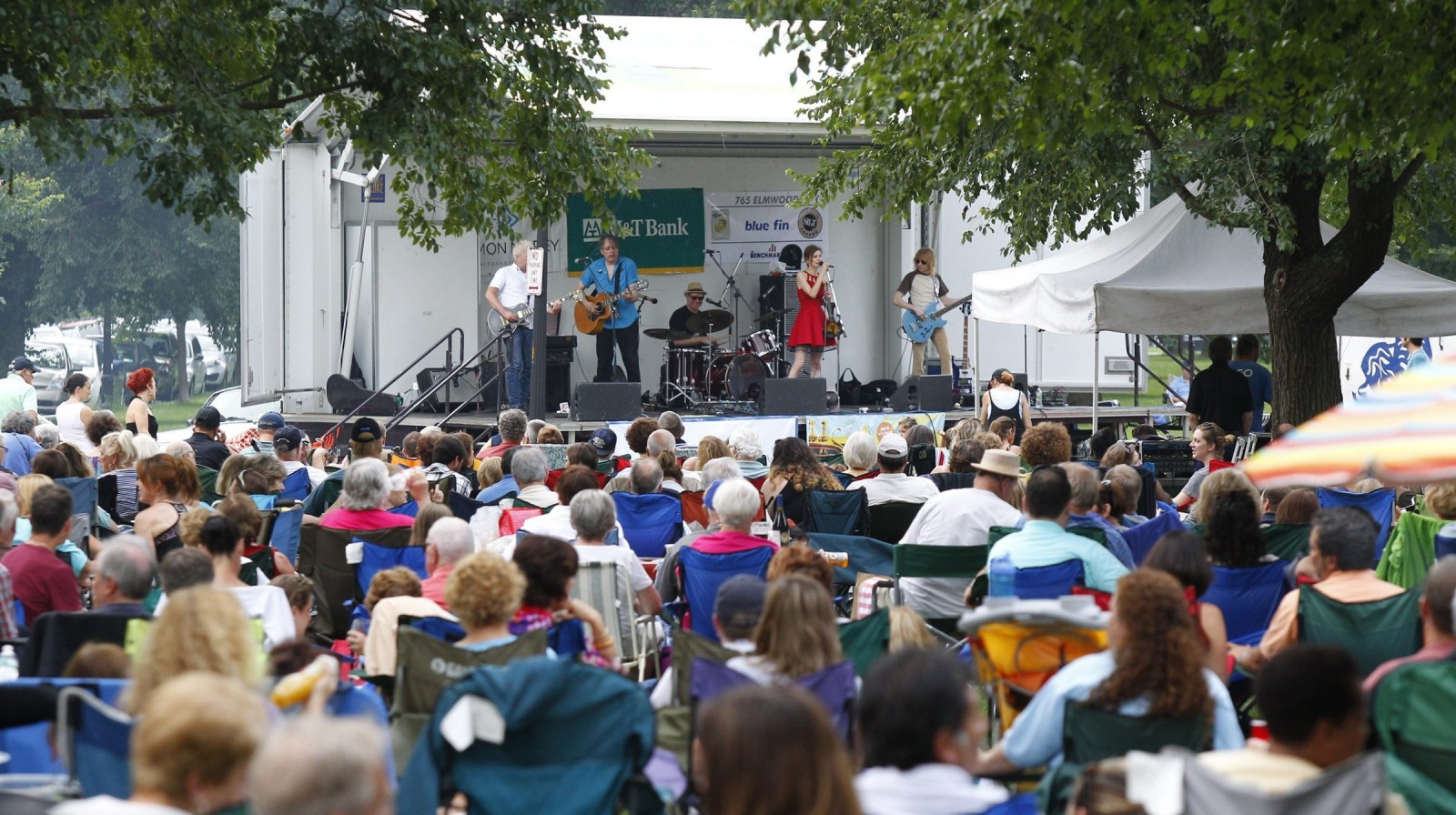 The lineup for the 2015 concerts in Bidwell Park has been released. (Harry Scull Jr./Buffalo News file photo)