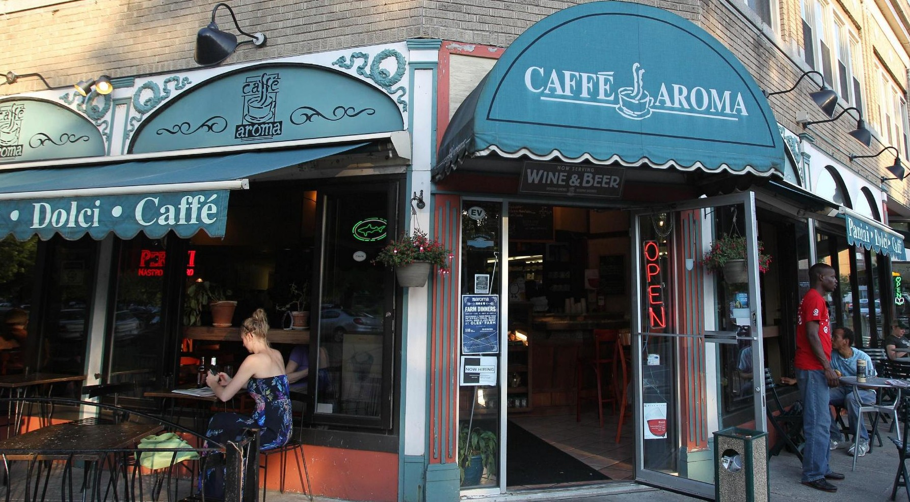 Caffe Aroma celebrates its anniversary beginning on Thursday. (Sharon Cantillon/Buffalo News file photo)