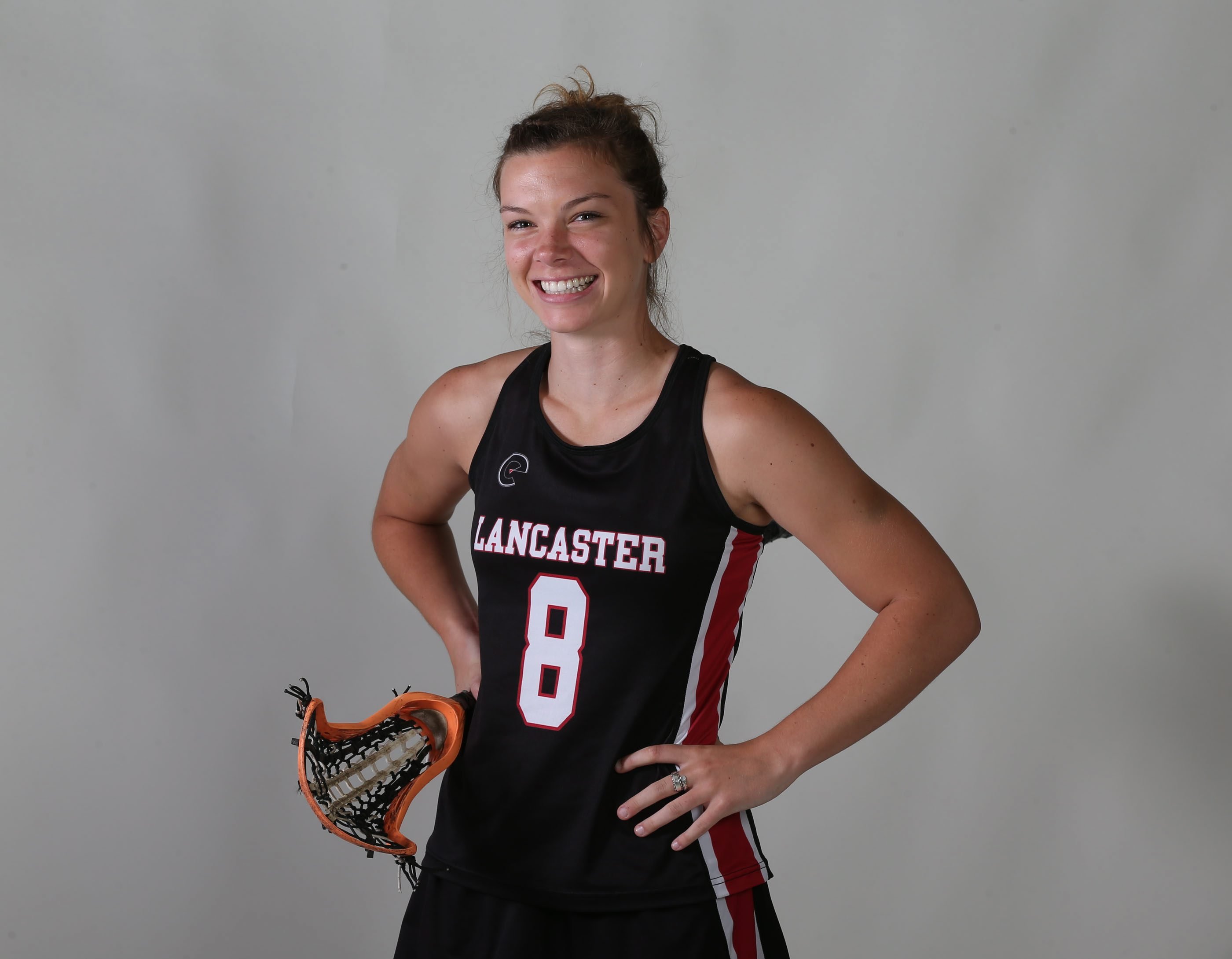 Prep Talk Player of the Year for girls lacrosse: Grace Gabriel, Lancaster. (James P. McCoy/ Buffalo News)