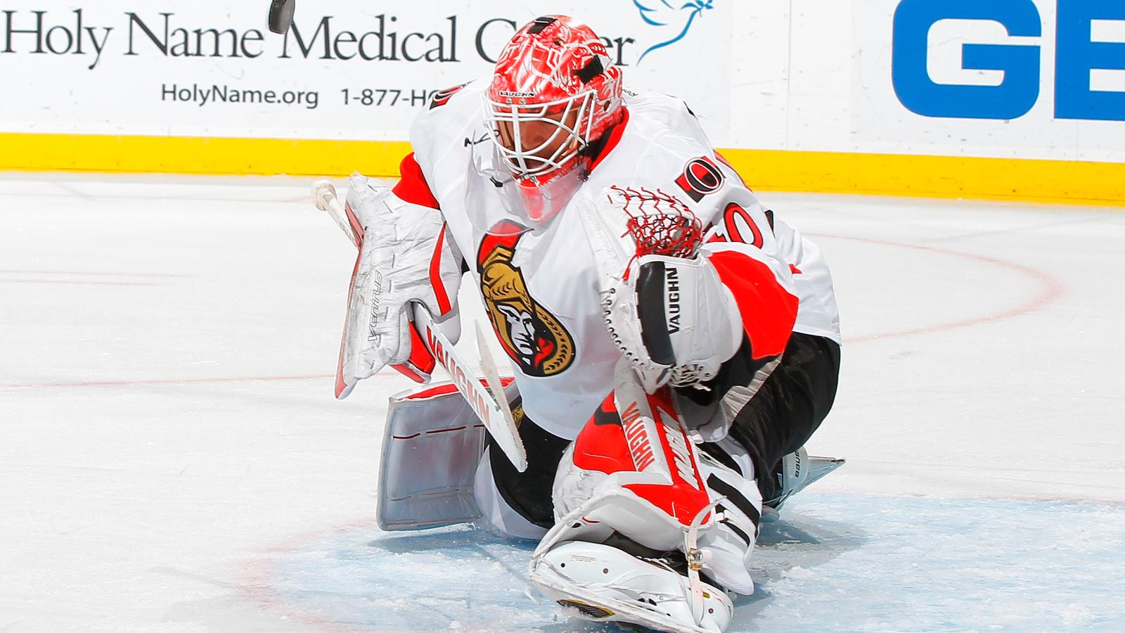Goaltender Robin Lehner is now a member of the Buffalo Sabres. (Getty Images)