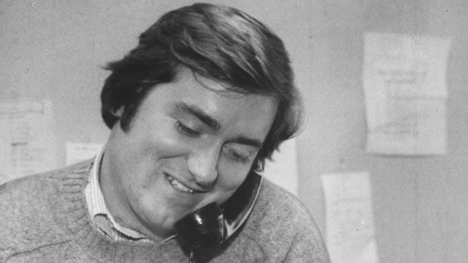 Tim Russert pictured here in 1979, 5 years after the 10-cent beer night in Cleveland. (Buffalo News file photo)