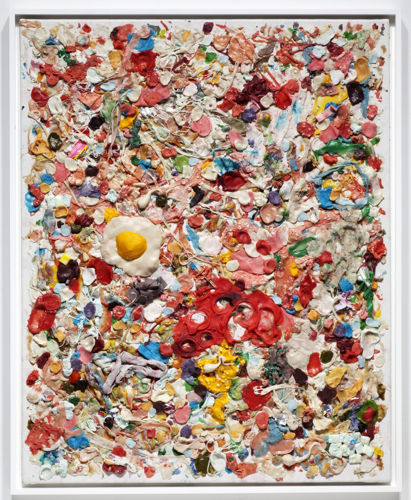 Forget oils and acrylics – artist Dan Colen makes abstract paintings with gum