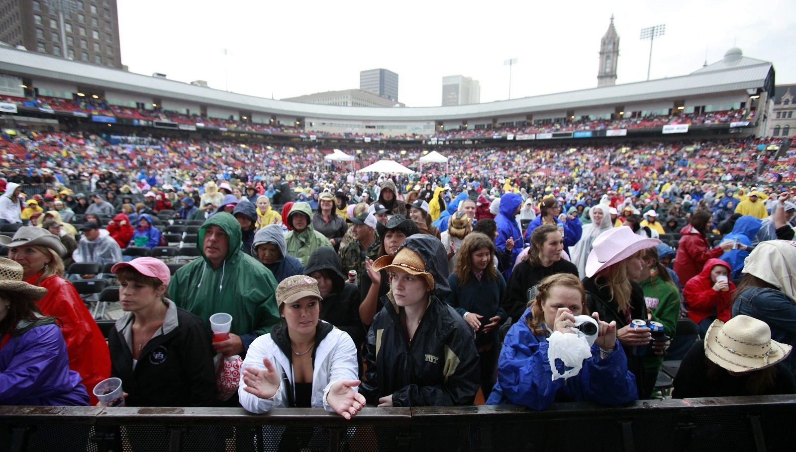 Despite threats of strong storms, Tim O'Shei reassures fans that the Taste of Country is expected to go on as scheduled. (Harry Scull Jr./Buffalo News file photo)