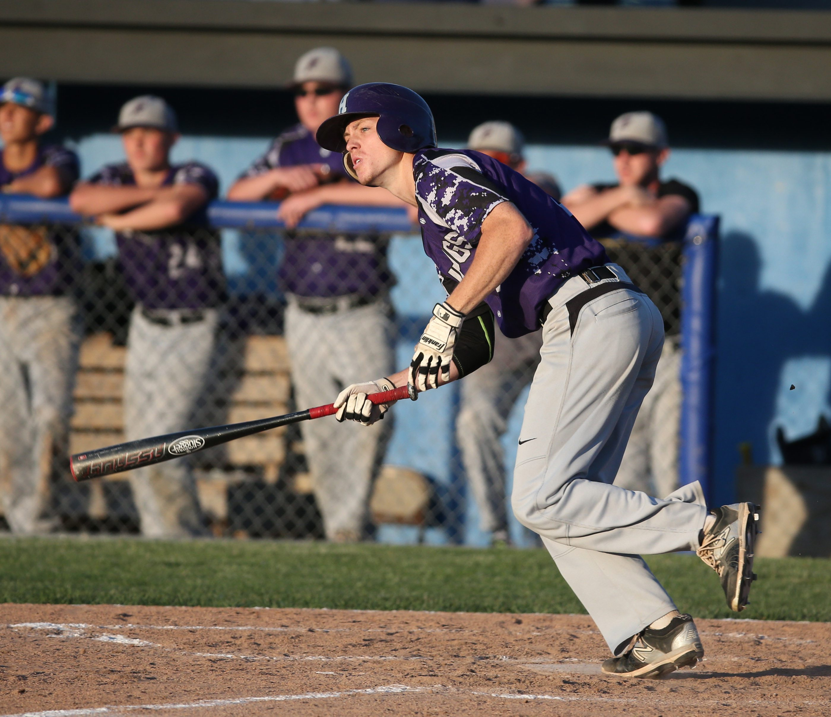 Hamburg rode the bat and pitching arm of first team all-state selection Cam Ringo to its first state final four. (James P. McCoy / Buffalo News file photo)