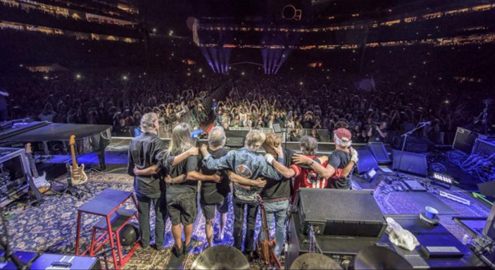 The Grateful Dead will bid us a final good night on Sunday.