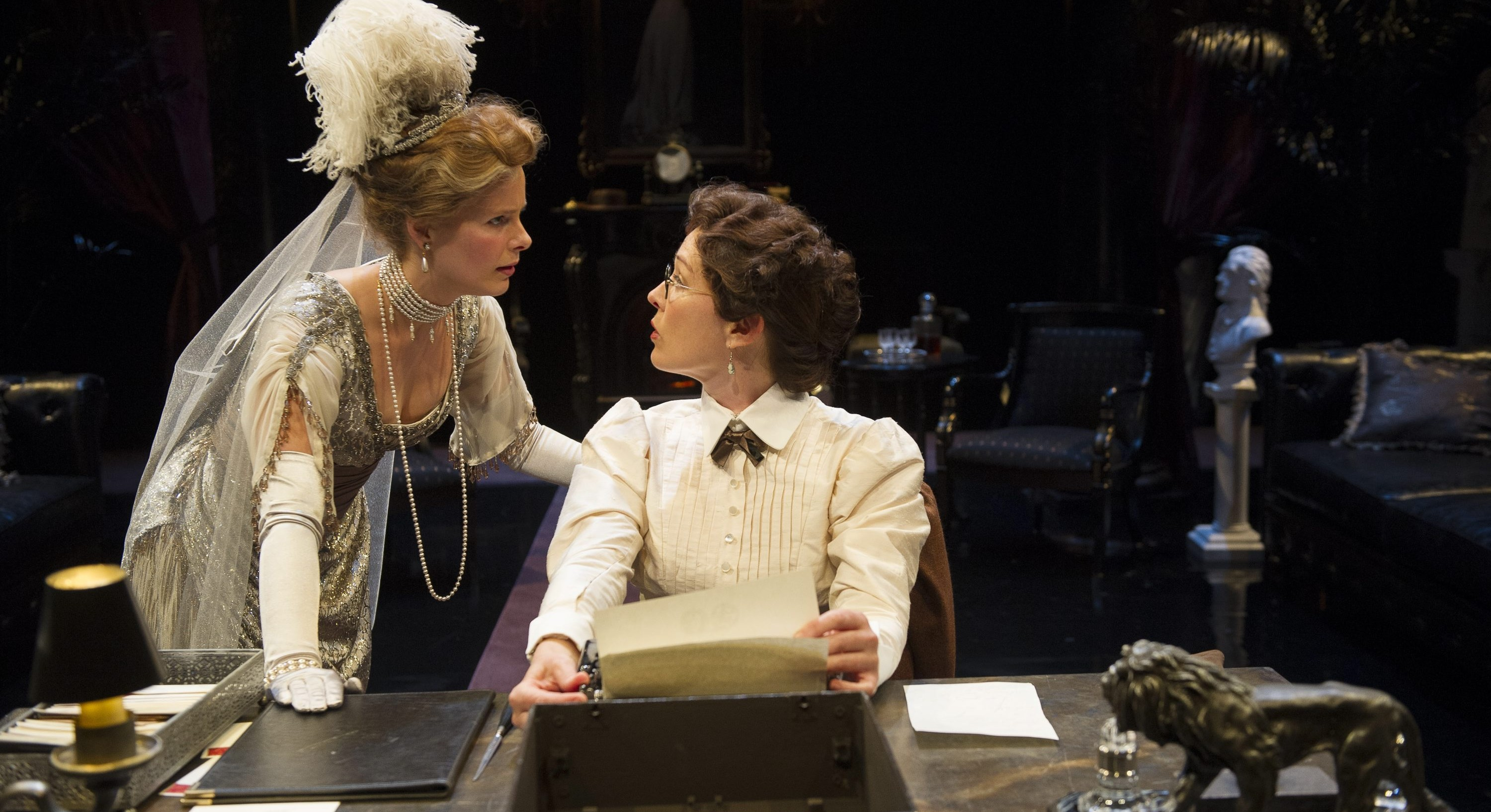 Kate Besworth and Moya O'Connell star in the Shaw Festival's production of 'The Twelve-Pound Look.'