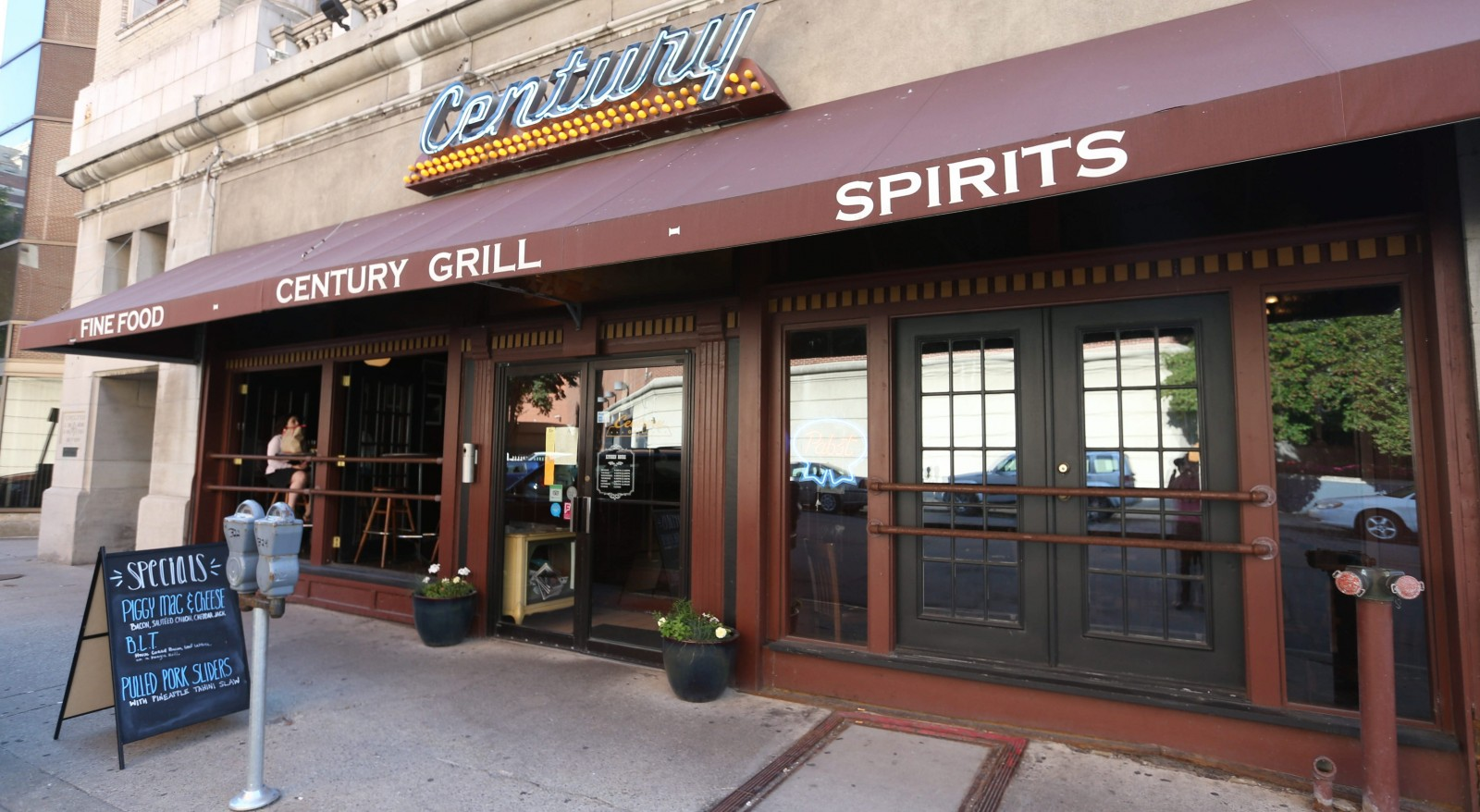 The Century Grill, at 318 Pearl St., will close. (Sharon Cantillon/Buffalo News)