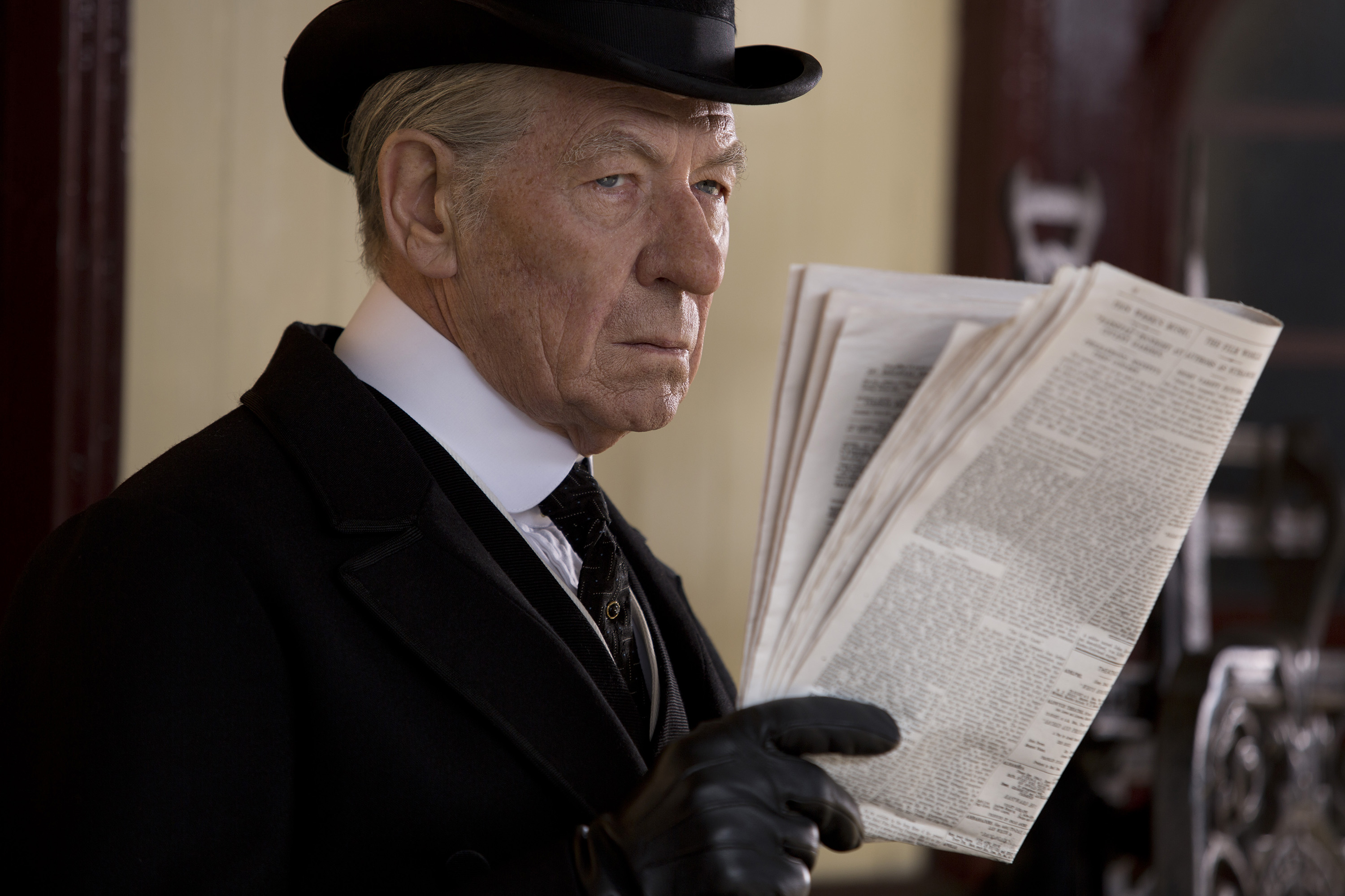 "Sir Ian McKellen nails his role as an aging Sherlock Holmes in ""Mr. Holmes."""