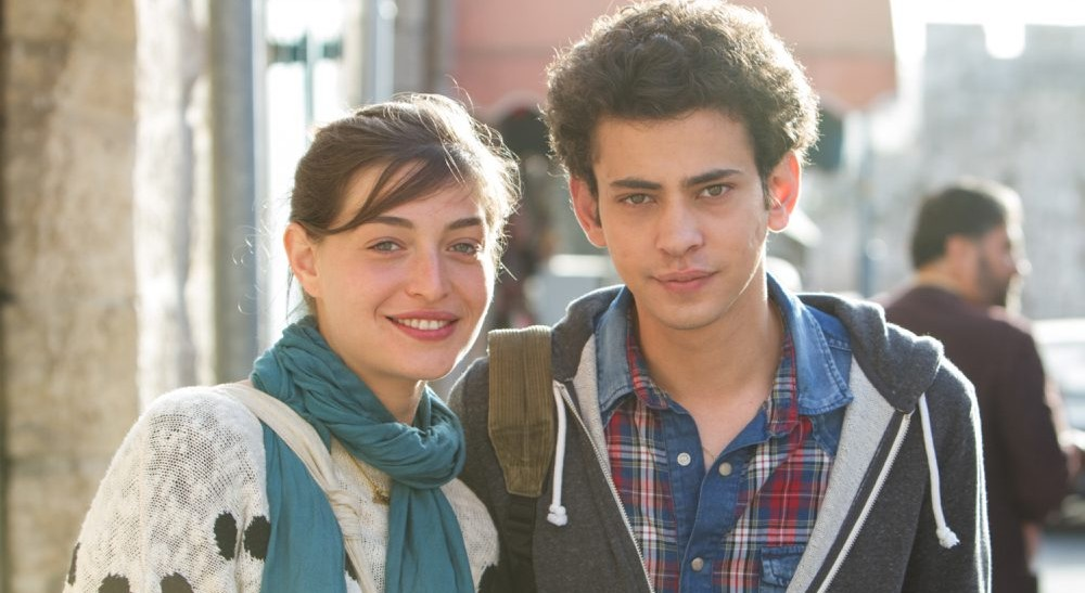Daniel Kitsis, left, and Tawfeek Barhom star in 'A Borrowed Identity.'
