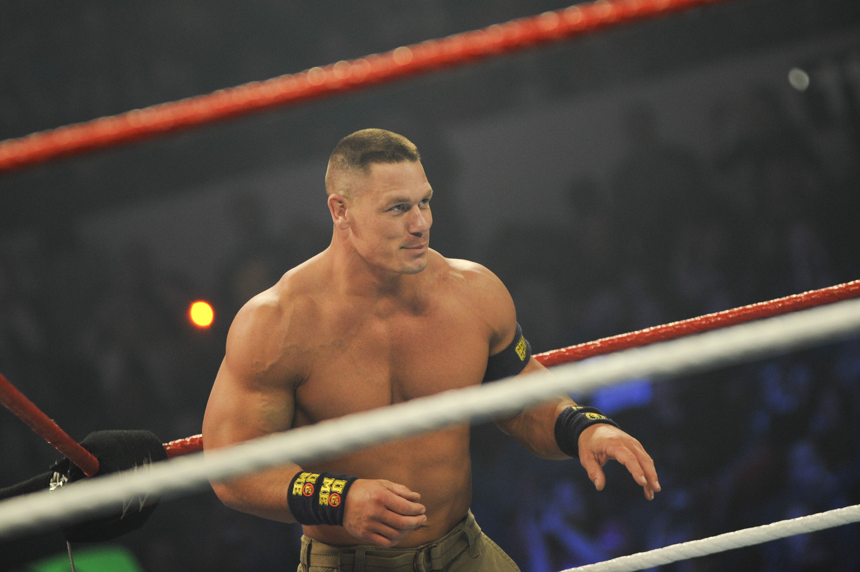 "John Cena will be in Buffalo for ""Monday Night Raw"" on Sept. 28 at the First Niagara Center. (Getty Images)"