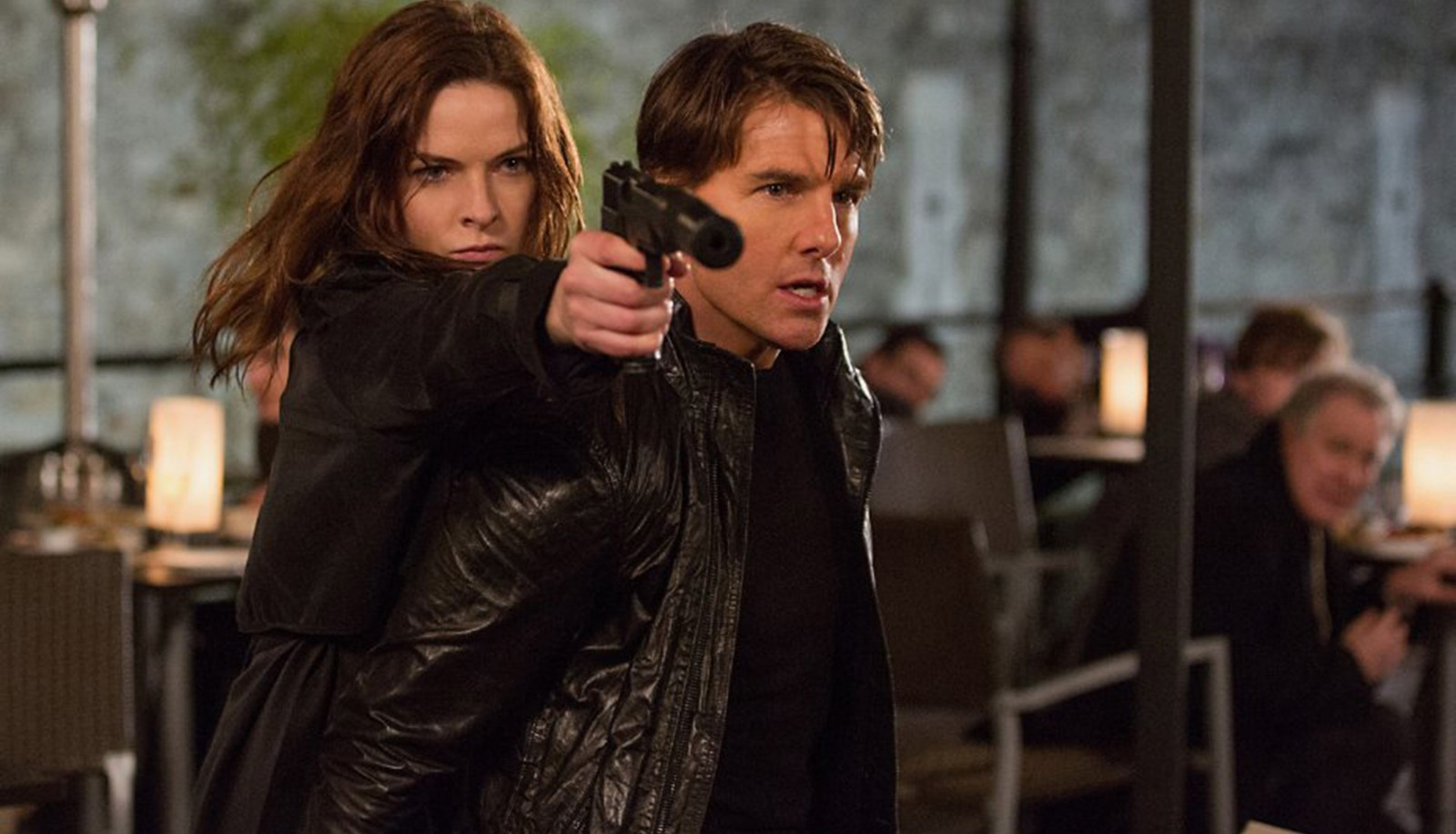 Tom Cruise and Rebecca Ferguson star in 'Mission: Impossible Rogue Nation.'