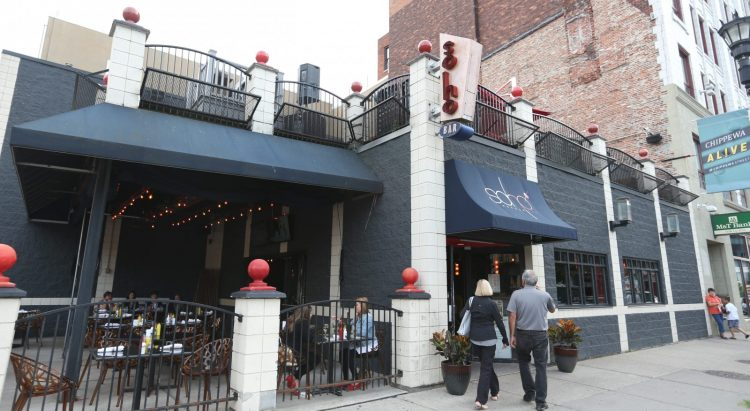 Soho Burger Bar at 64 Chippewa St. (Sharon Cantillon/Buffalo News)