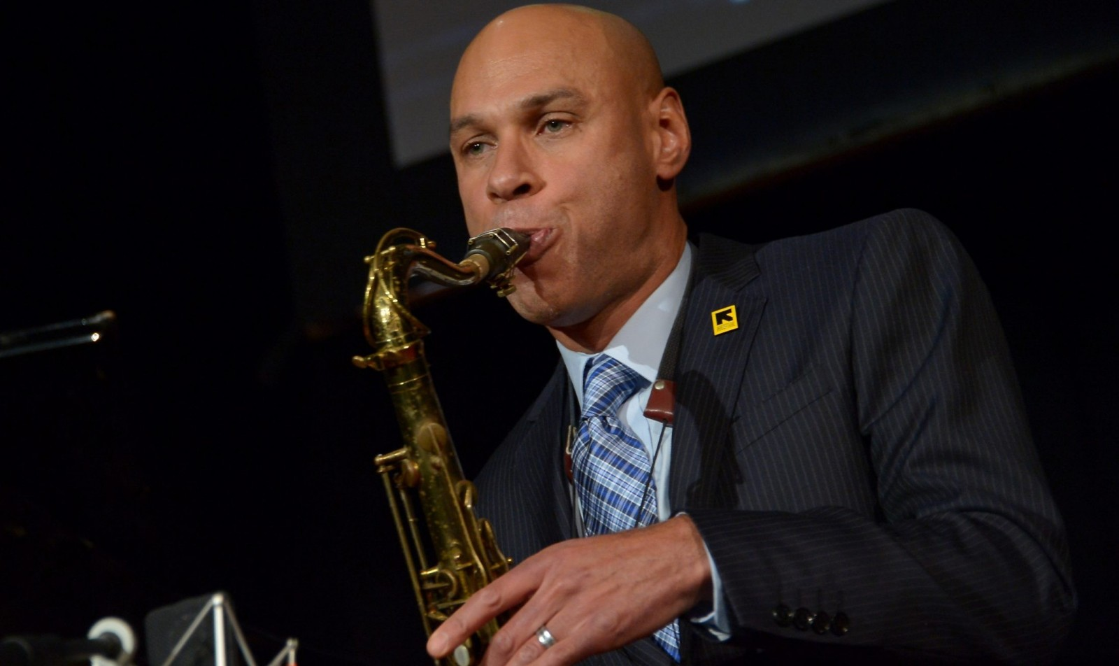 Joshua Redman is part of the 2015-16 Great Performers Series in Rockwell Hall. (Getty Images)