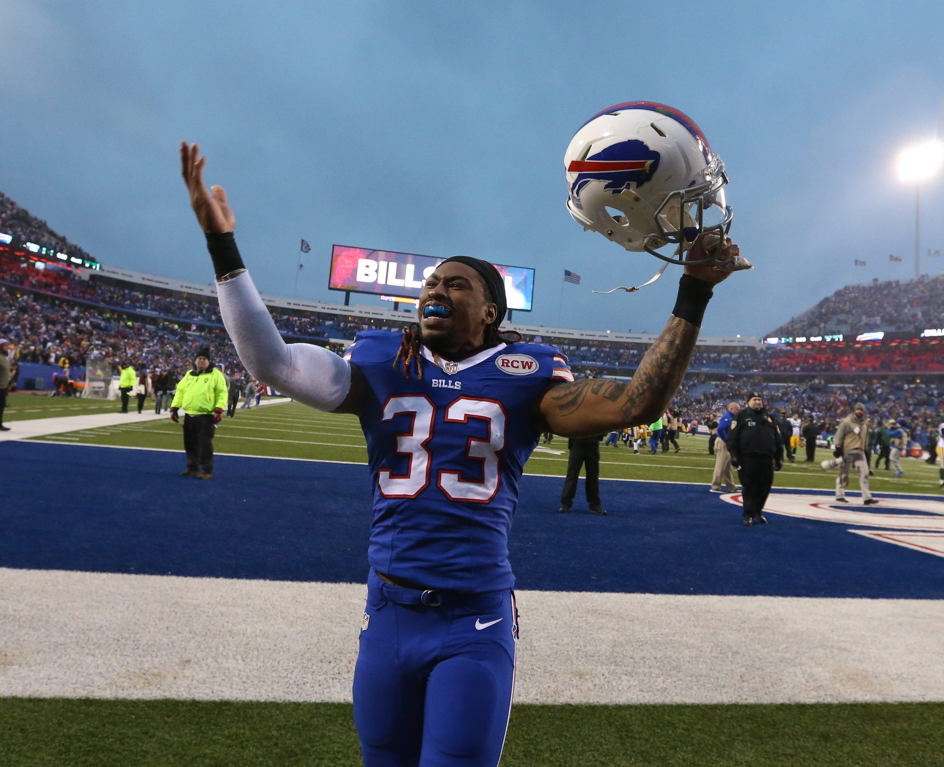 Bills cornerback Ron Brooks has been working hard in the offseason, getting ready to face some tough competition at his position once training camp opens.
