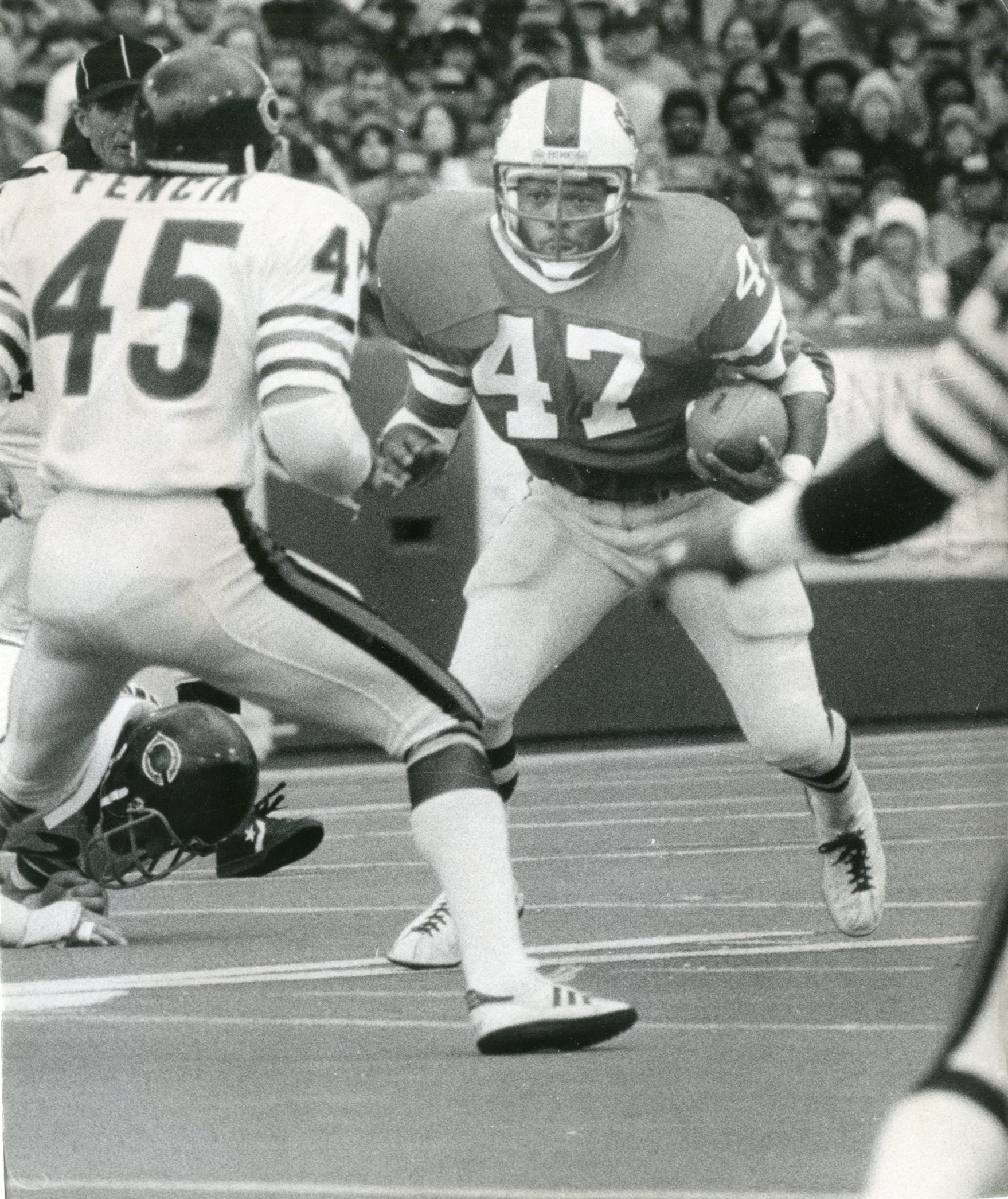 2LINE CUTLINE Curtis Brown is seen during one of his games as a Bill, this one on Oct. 7, 1979. (Buffalo News archives)