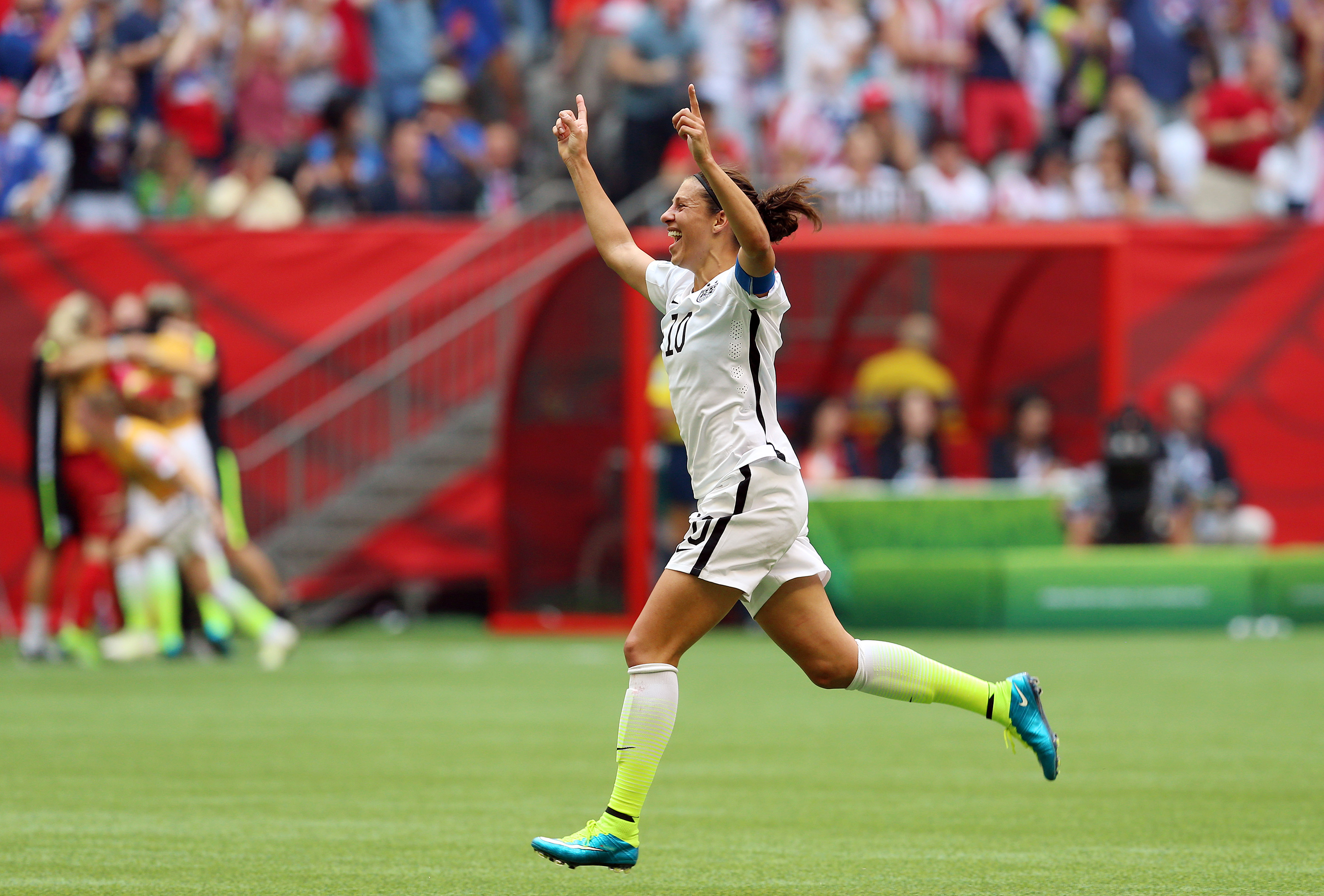 Soccer is flying high in the U.S. after Carli Lloyd helped Team USA win the Women's World Cup. The question is, says columnist Bucky Gleason, how long will fans stay on the bandwagon?
